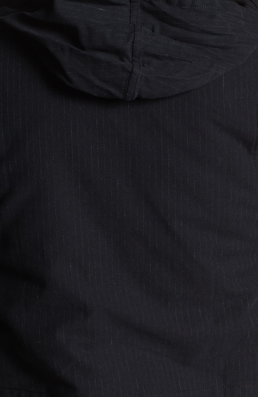 Alternate Image 3  - U Clothing Pinstripe M-65 Field Jacket