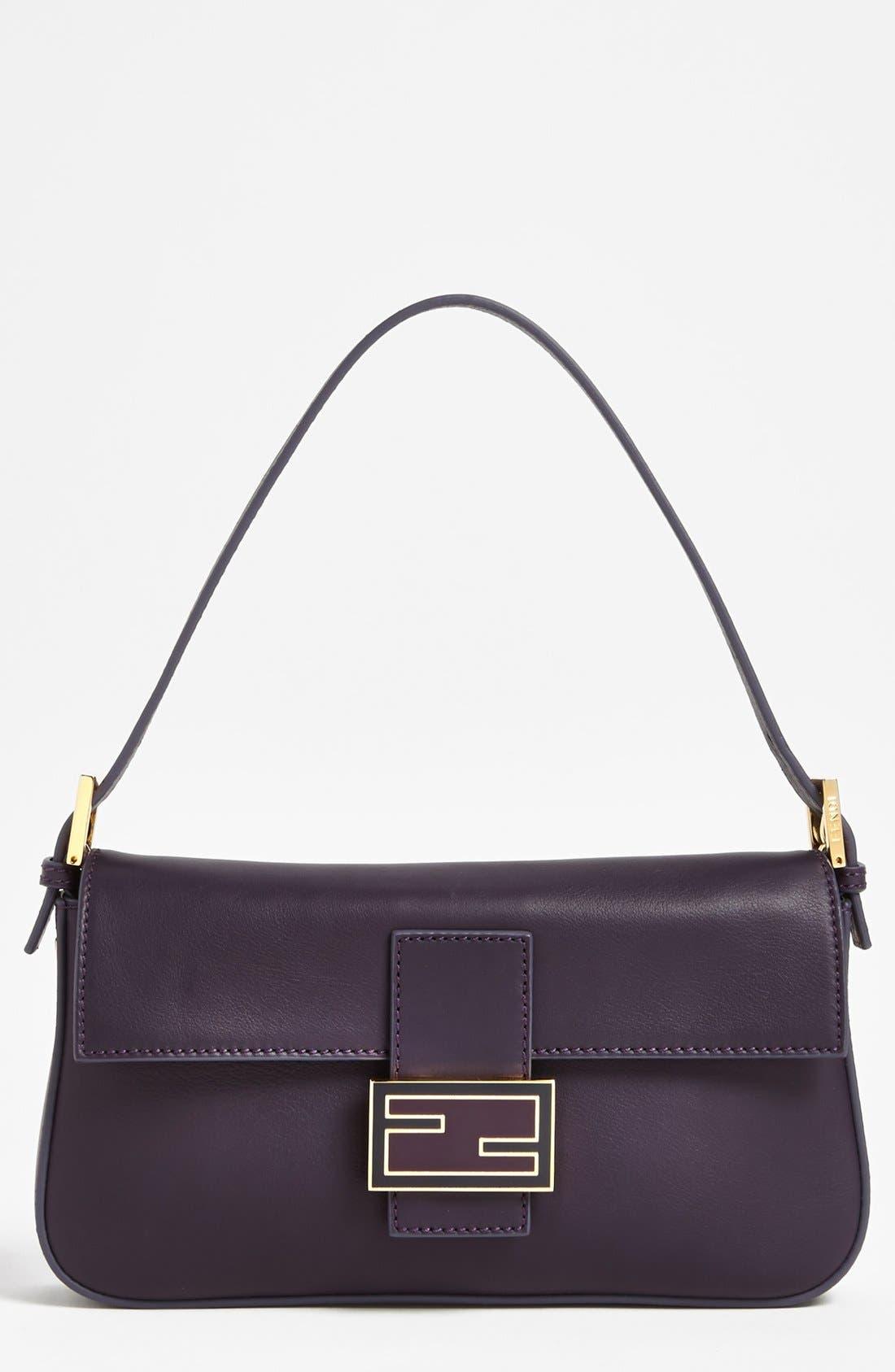 Alternate Image 1 Selected - Fendi Leather Baguette