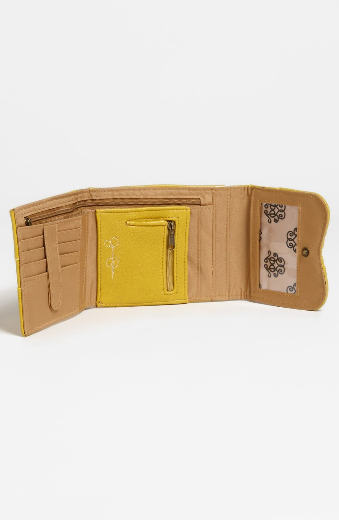 Alternate Image 3  - Jessica Simpson 'Kenya' Faux Leather Wallet