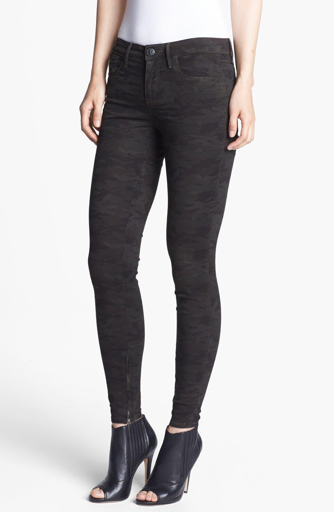 Main Image - Habitual 'Almas' Camo Print Skinny Stretch Jeans (Nordstrom Exclusive)