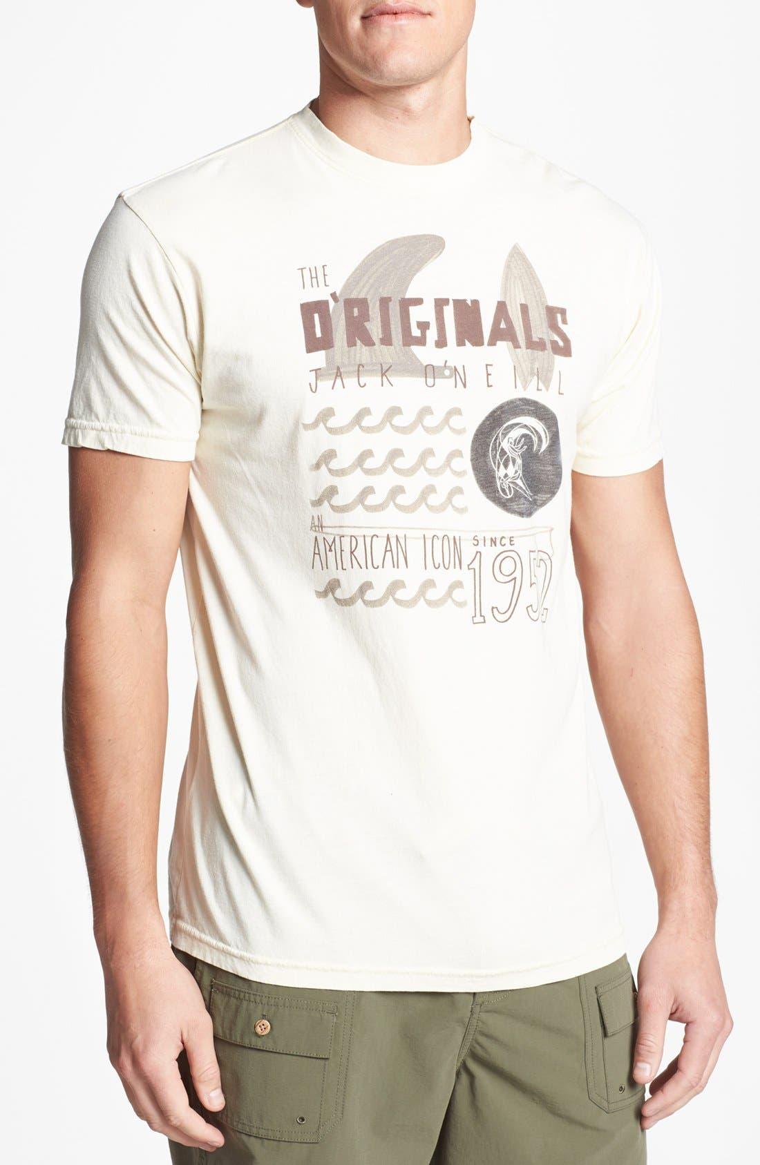 Alternate Image 1 Selected - Jack O'Neill 'Workshop' T-Shirt