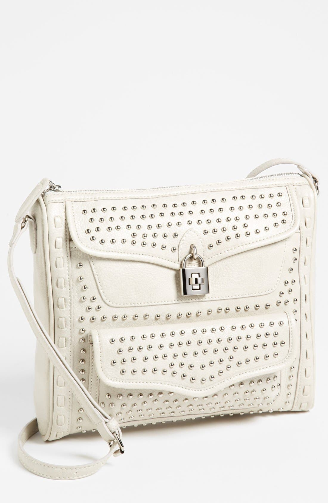 Main Image - Jessica Simpson 'Madison' Pebble Studded Crossbody Bag