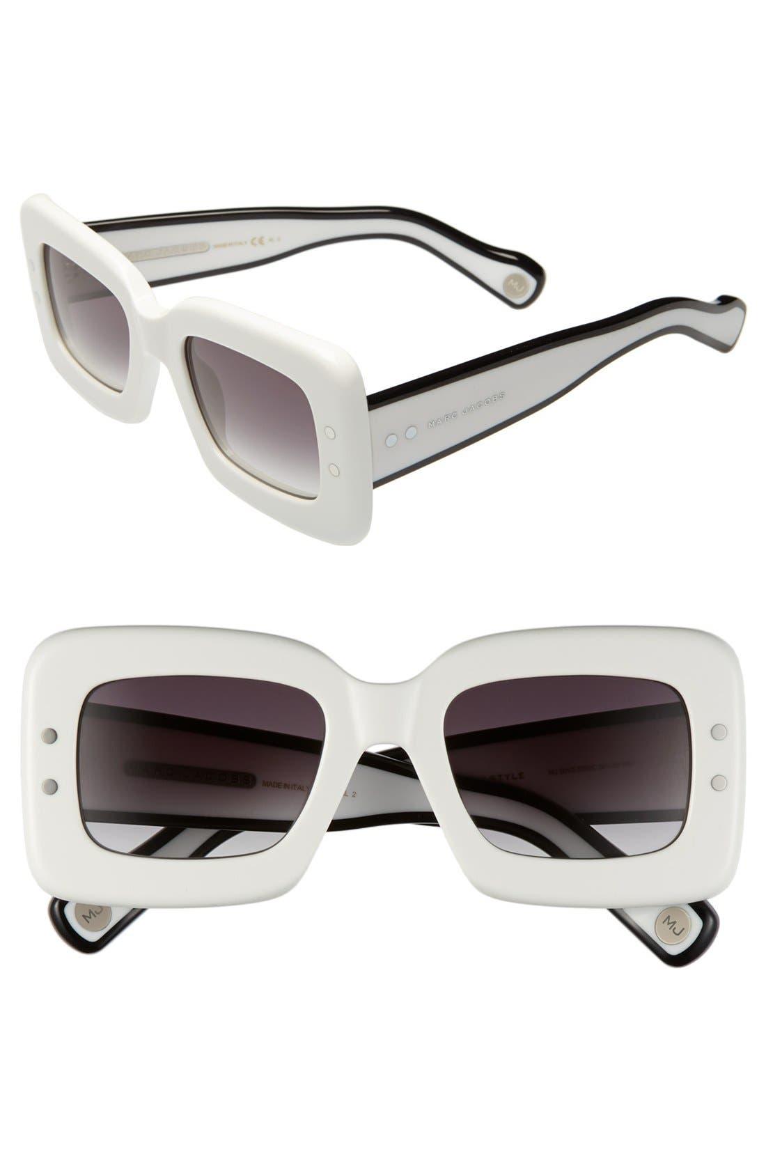 Alternate Image 1 Selected - MARC JACOBS 50mm Retro Sunglasses