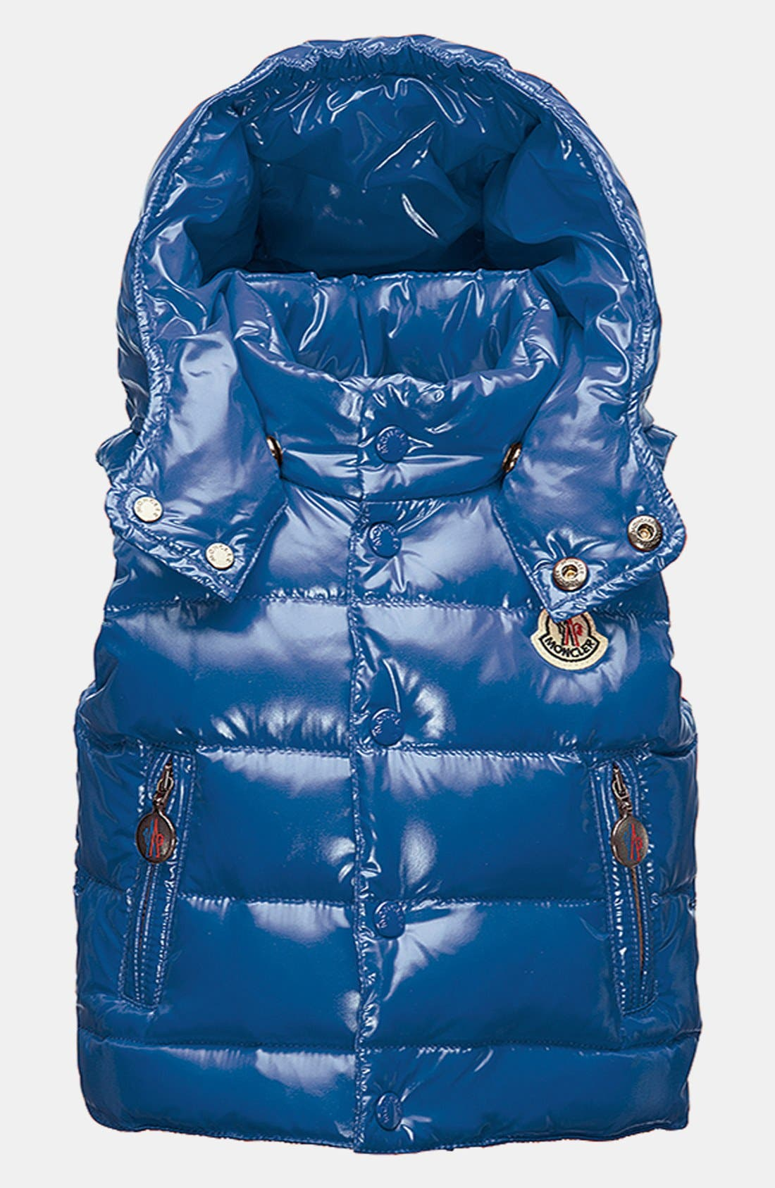 Alternate Image 1 Selected - Moncler 'Theo' Vest (Baby Girls)