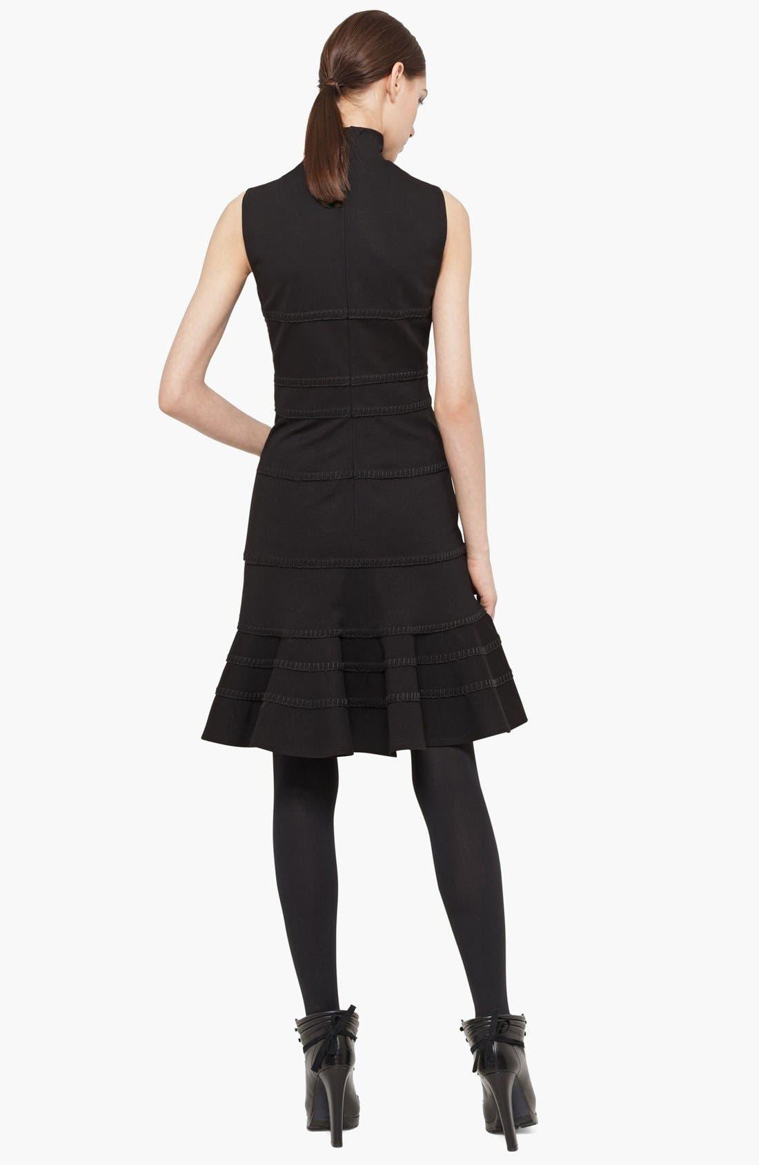 Alternate Image 2  - Akris punto Turtleneck Jersey Dress