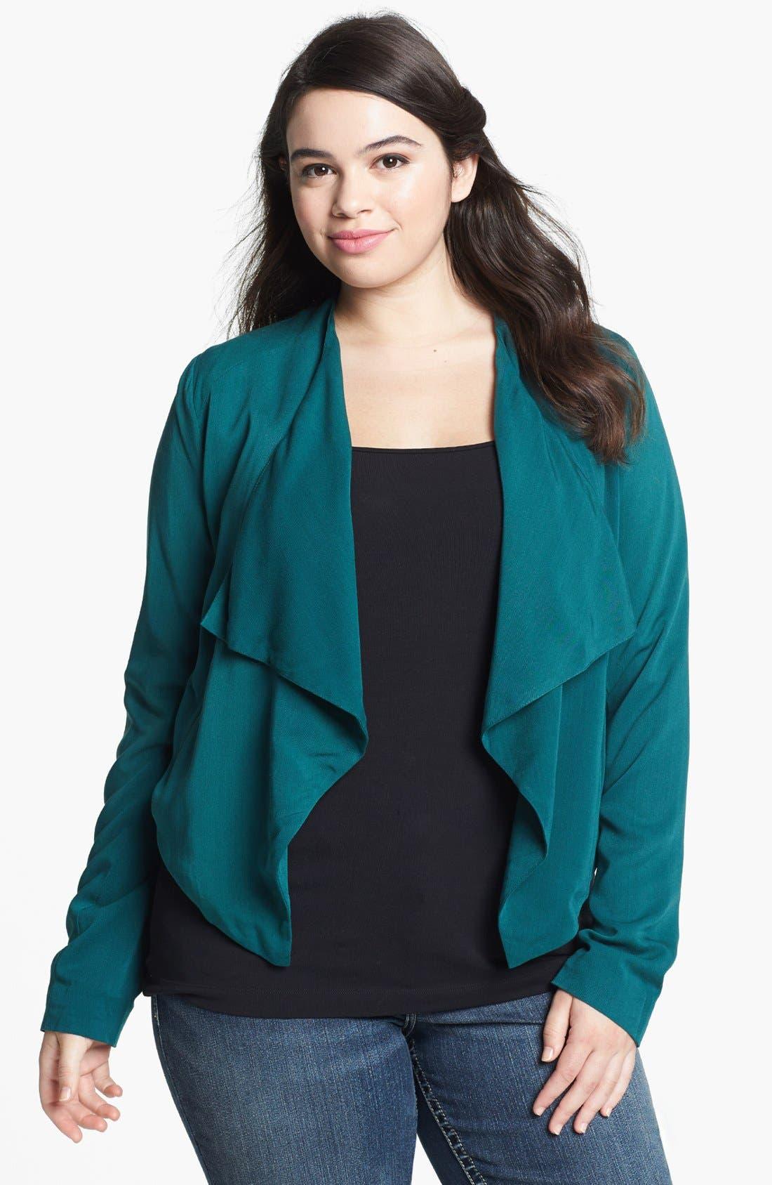 Alternate Image 1 Selected - BB Dakota 'Camden' Jacket (Plus Size)
