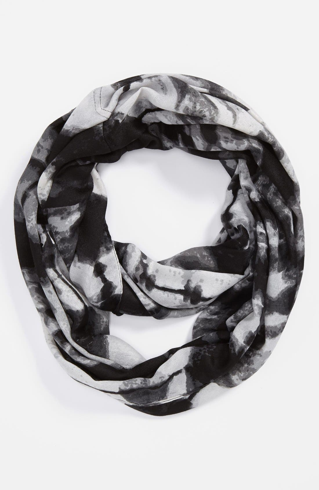Alternate Image 2  - David & Young Tie Dye Infinity Scarf
