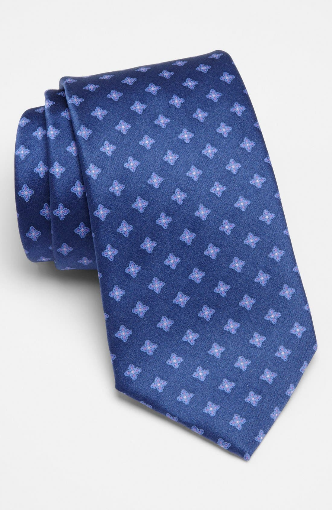Alternate Image 1 Selected - Valentino Woven Silk Tie
