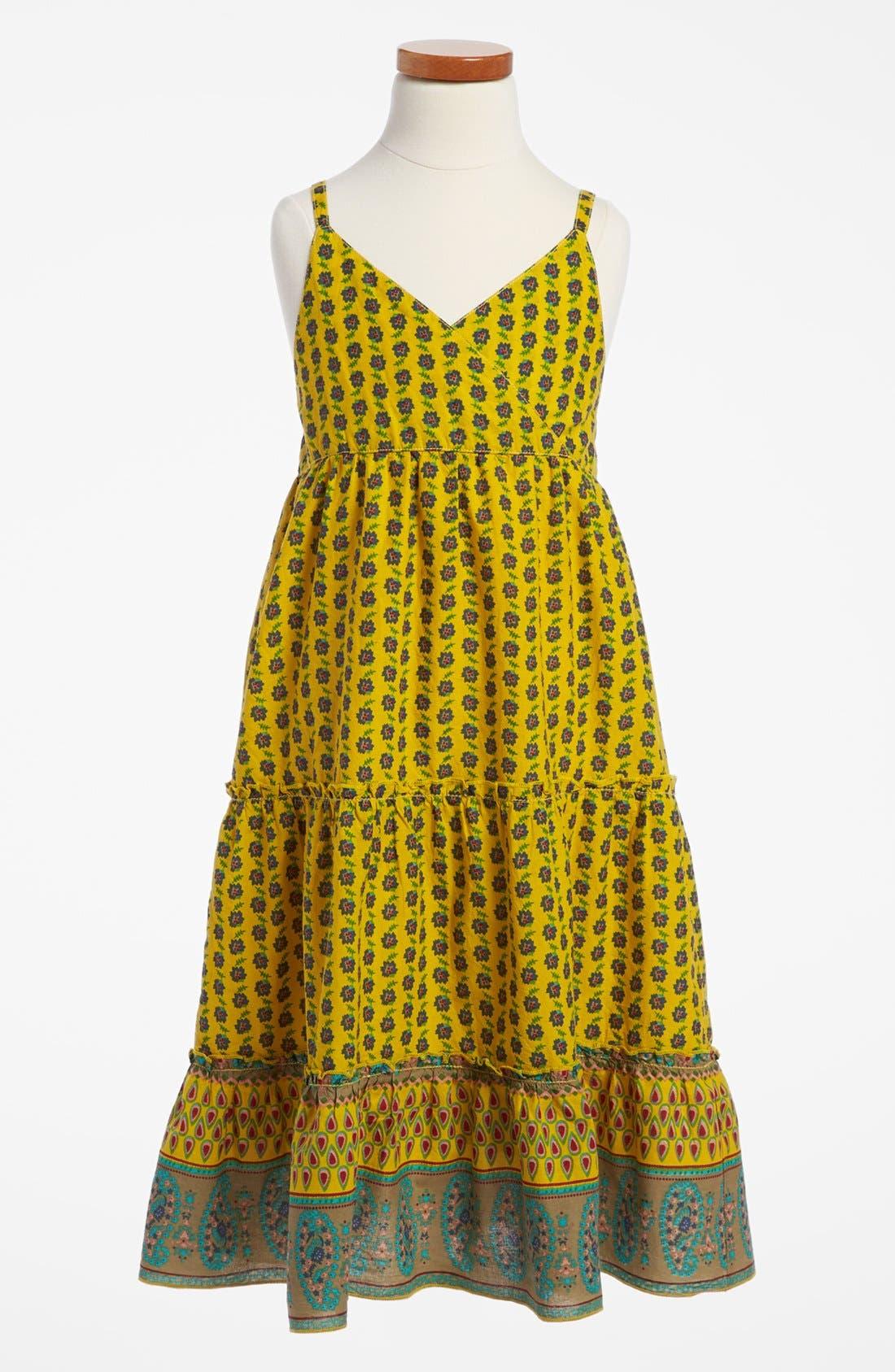 Alternate Image 1 Selected - Peek 'Alyssa' Sleeveless Dress (Toddler Girls, Little Girls & Big Girls)
