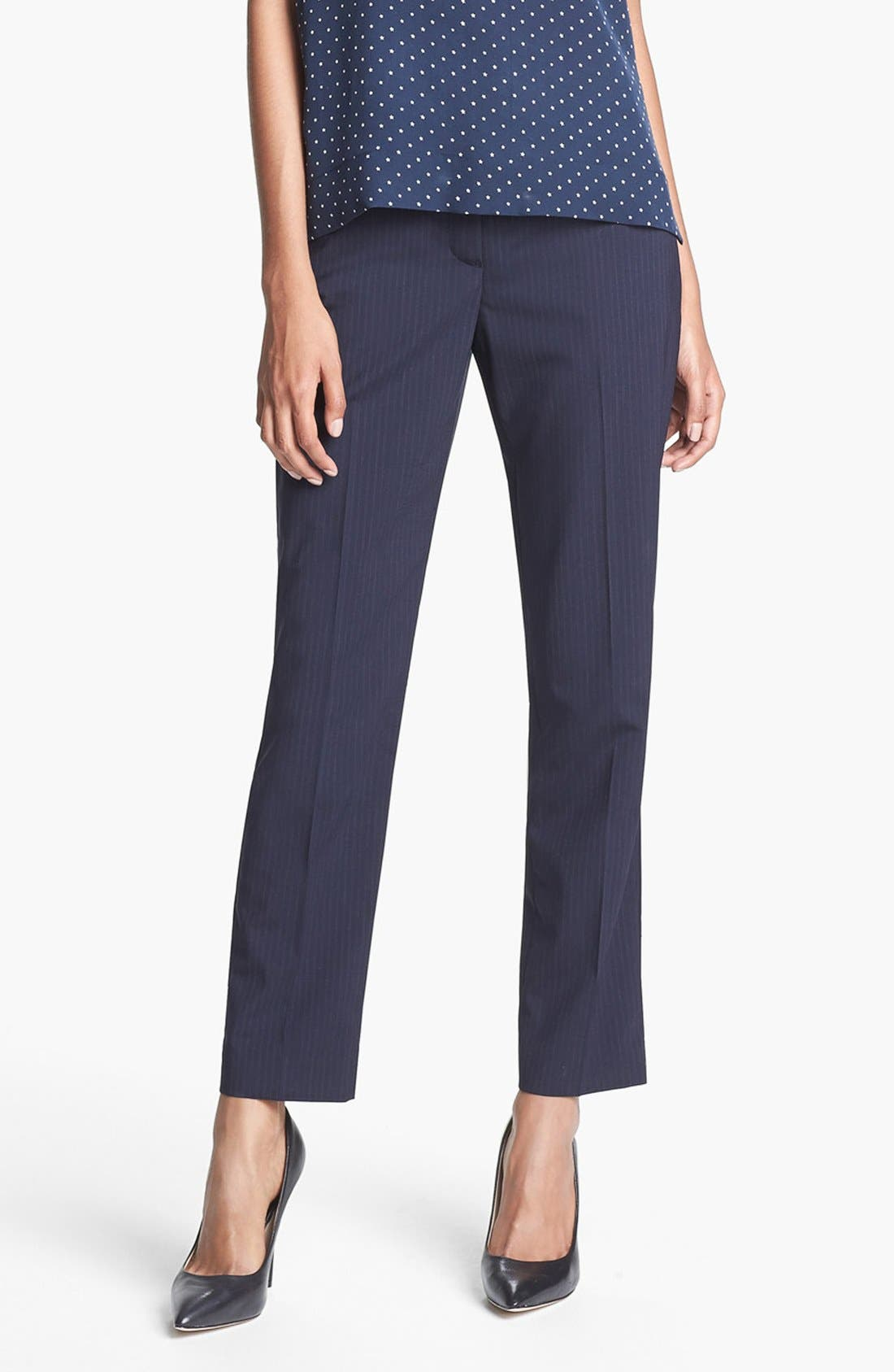 Main Image - Theory 'Testra' Stretch Wool Trousers