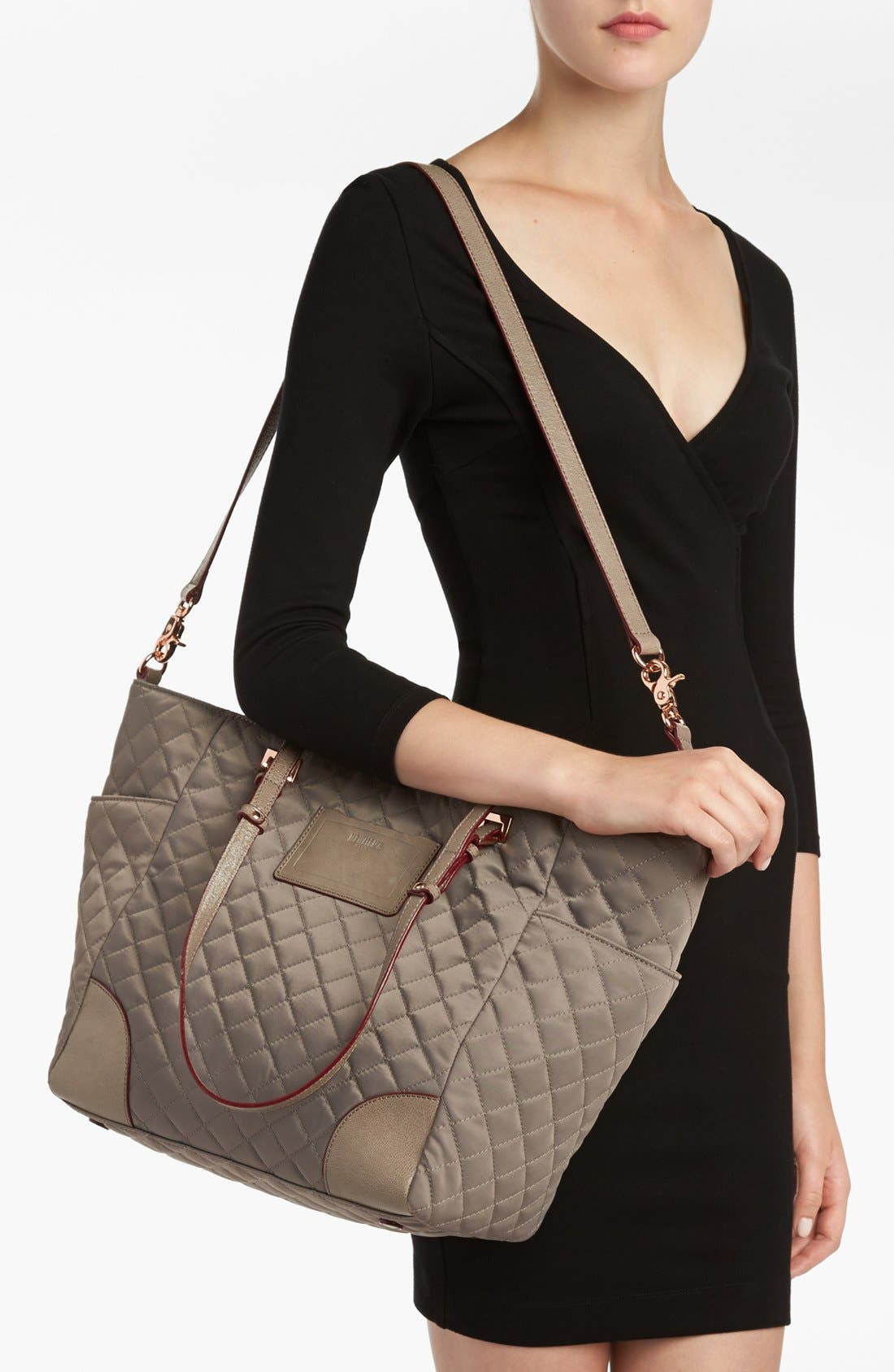Alternate Image 2  - MZ Wallace 'City' Quilted Tote, Extra Large