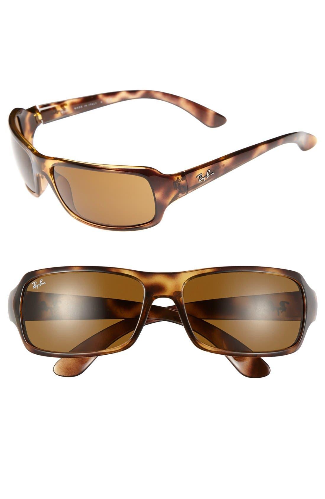 Alternate Image 1 Selected - Ray-Ban 61mm Wrap Sunglasses