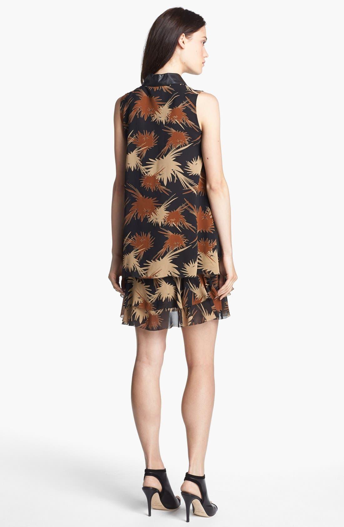 Alternate Image 2  - Rachel Zoe 'Waverly' Print Crepe Trapeze Dress