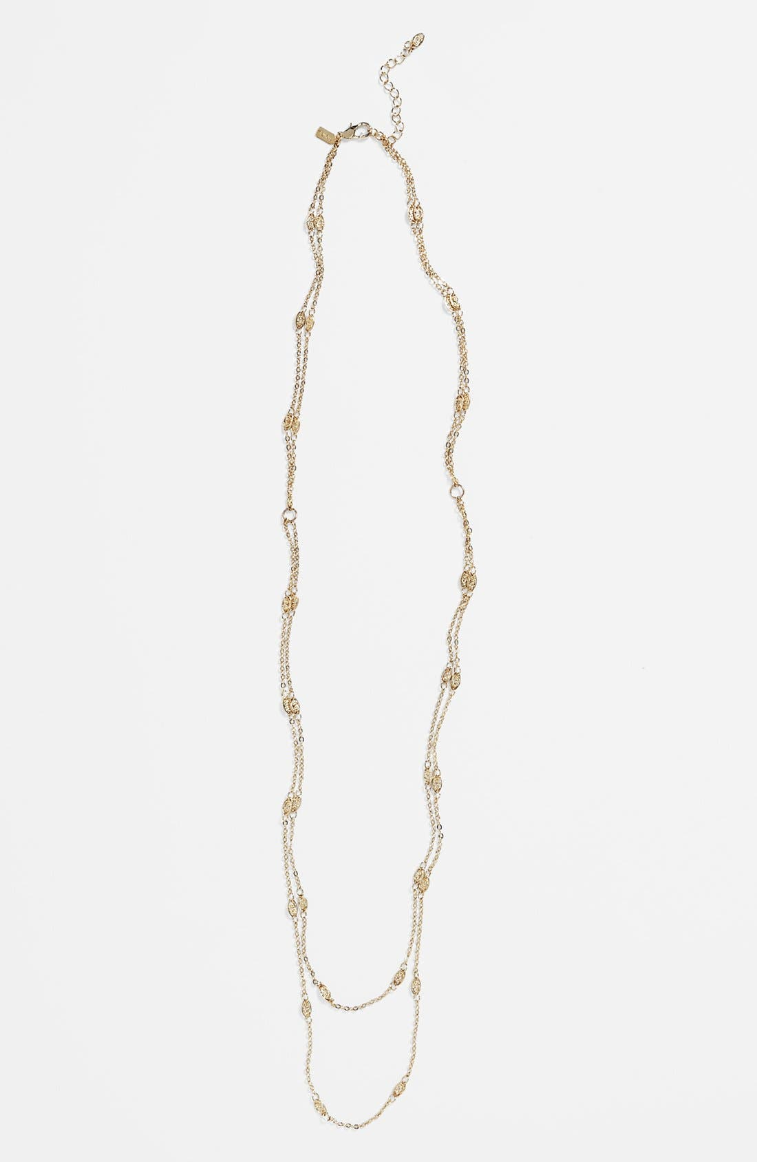 Main Image - Rachel Layering Chain Necklace