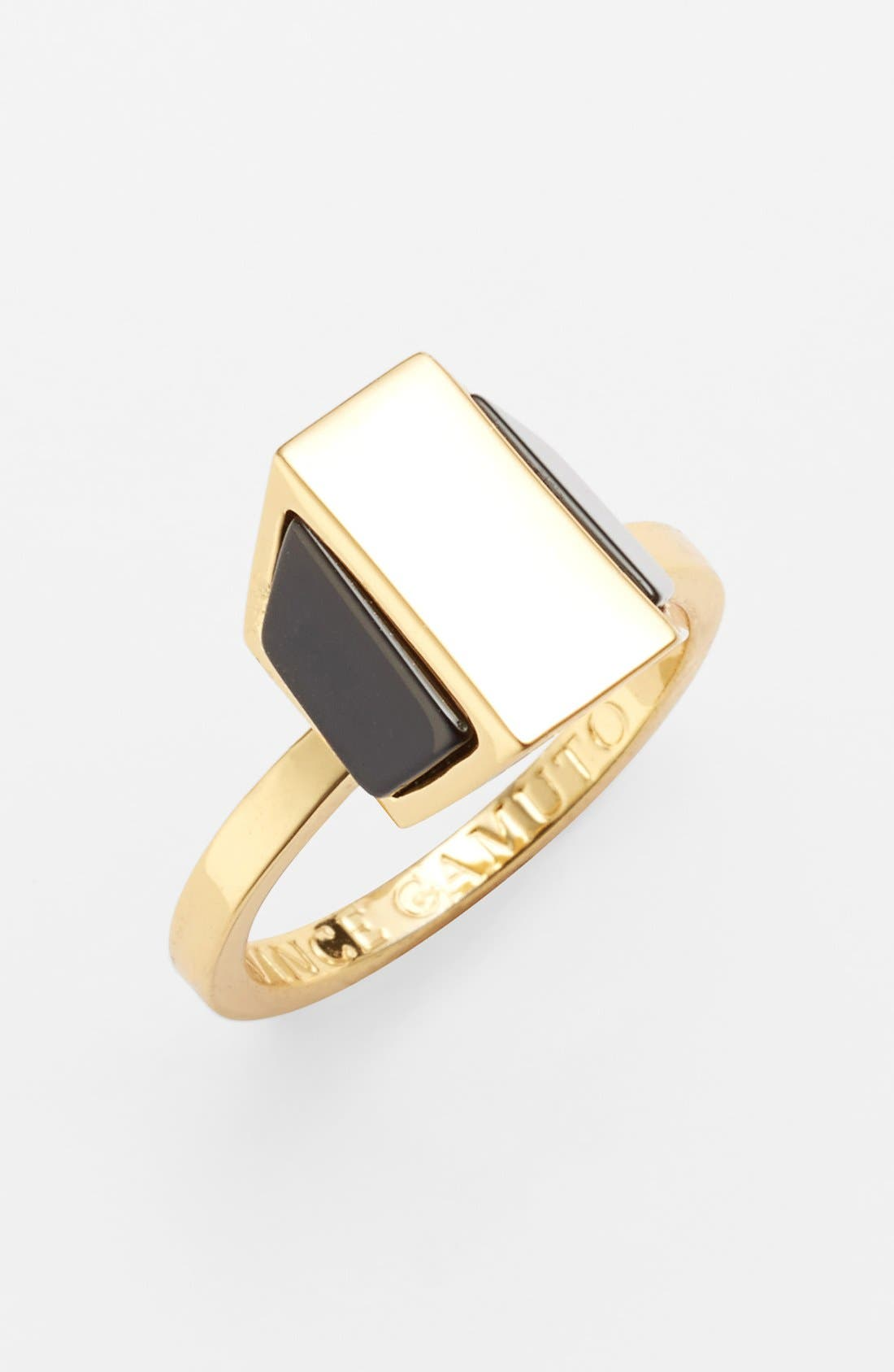 Alternate Image 1 Selected - Vince Camuto 'Love Stoned' Geometric Ring