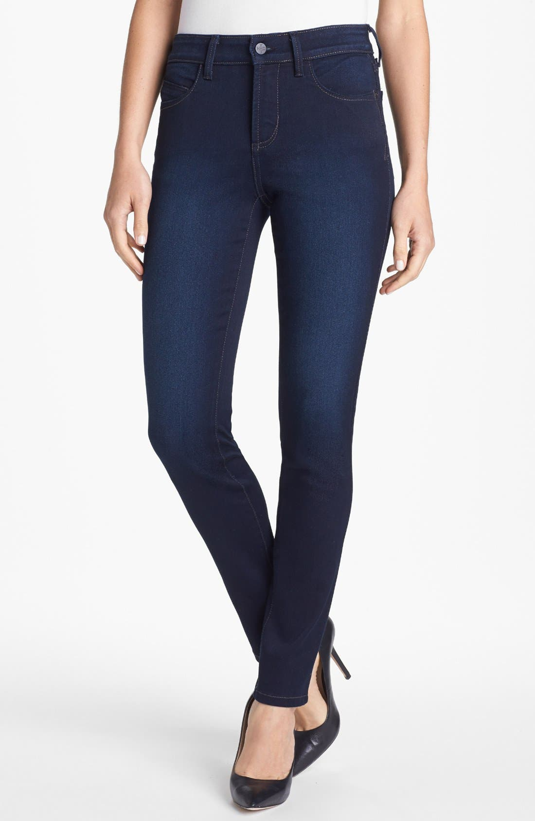 Alternate Image 1 Selected - NYDJ 'Alina' Stretch Skinny Jeans (Pasadena) (Regular & Petite)
