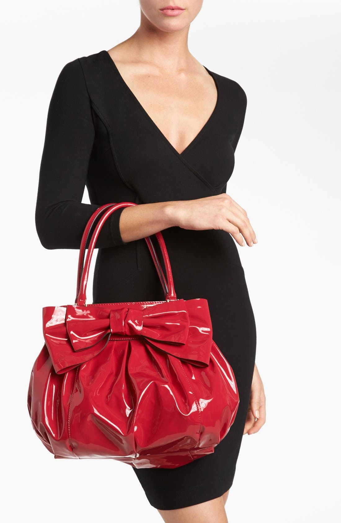 Alternate Image 2  - Valentino 'Lacca Bow' Shopper