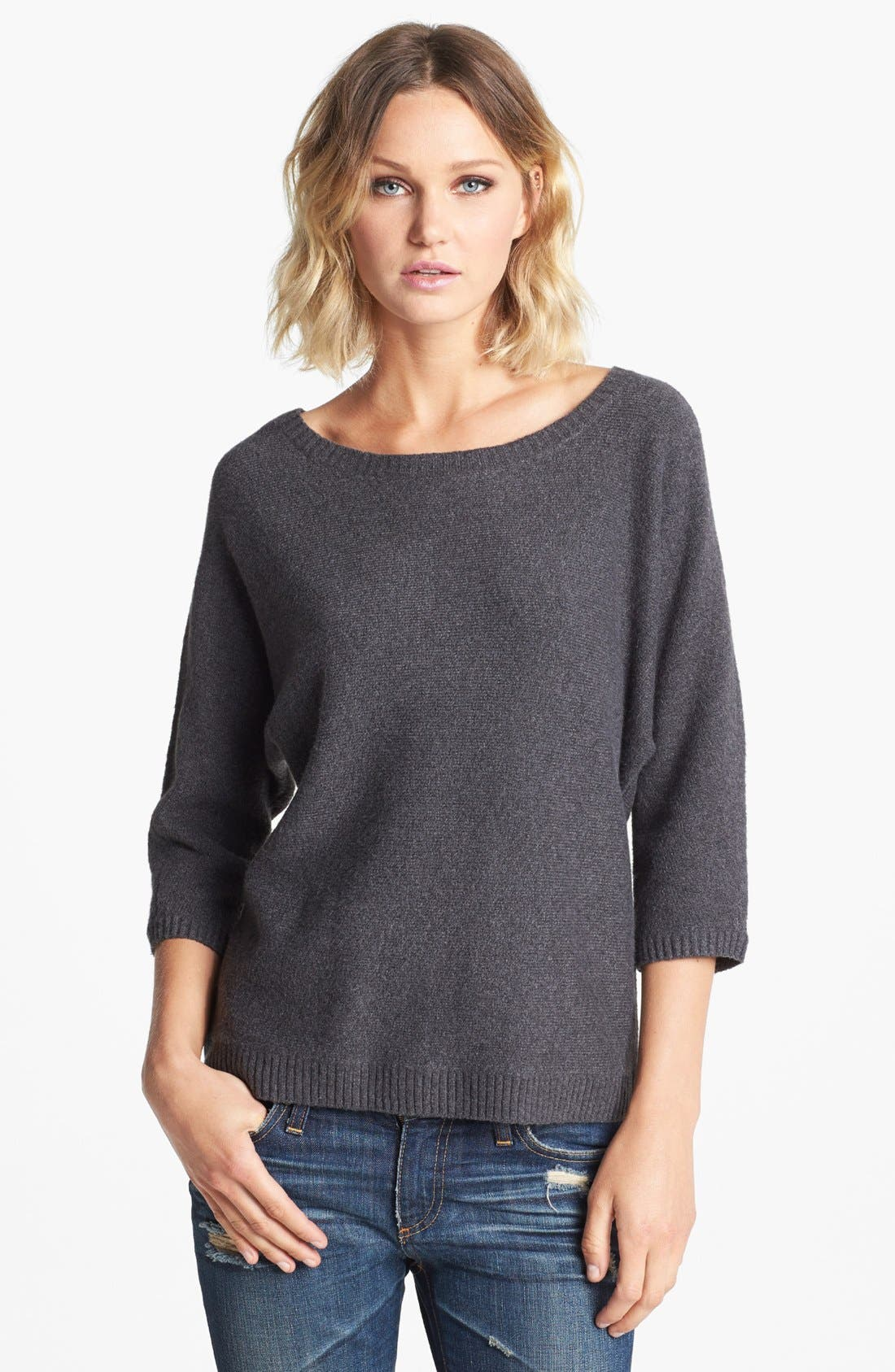Alternate Image 1 Selected - Hinge® Button Back Sweater