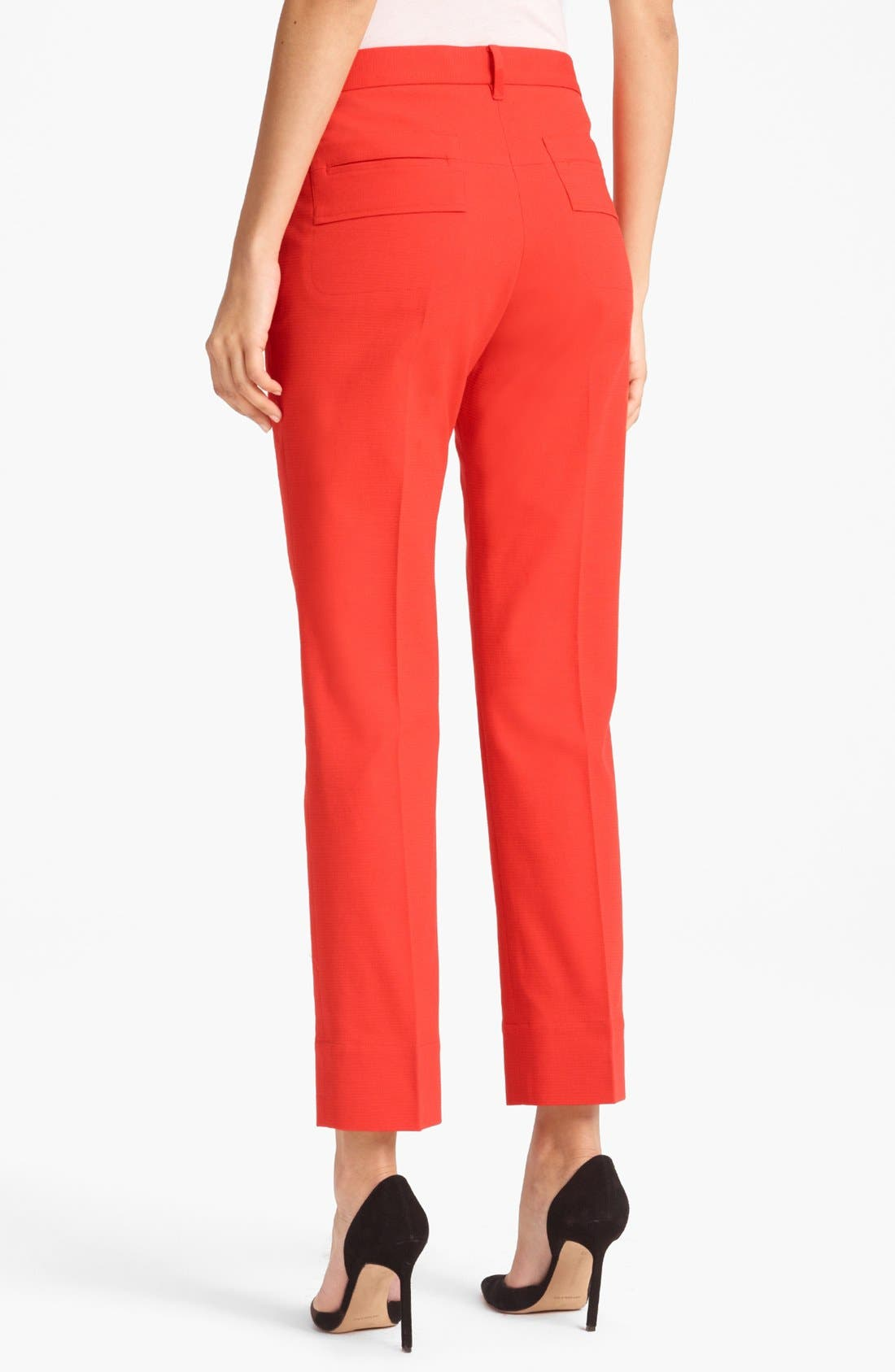 Alternate Image 2  - Jil Sander 'Niccolo' Stretch Piqué Crop Pants