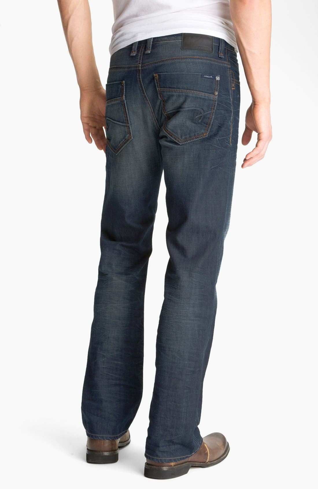Alternate Image 1 Selected - Mavi Jeans 'Josh' Bootcut Jeans (Coated Jameson) (Online Only)