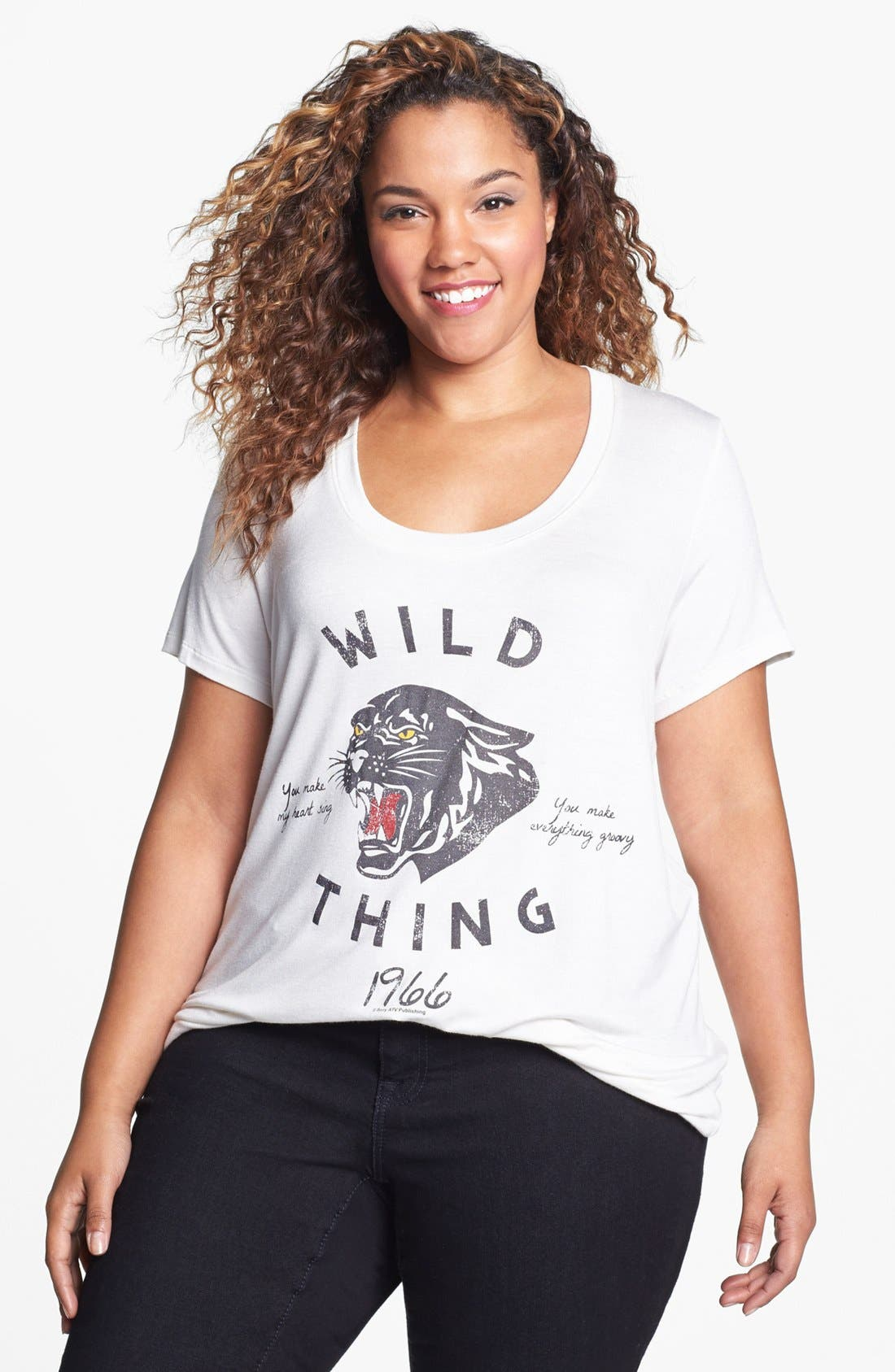 Main Image - Lords of Liverpool 'Wild Thing' Graphic Tee (Juniors Plus)