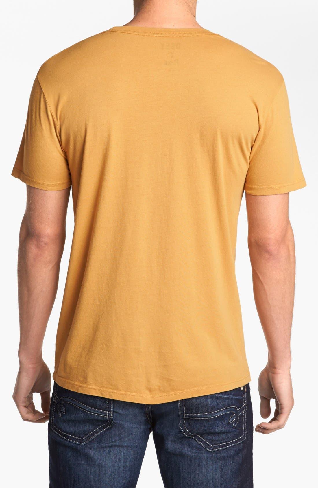 Alternate Image 2  - Obey 'Freedom Skull' T-Shirt