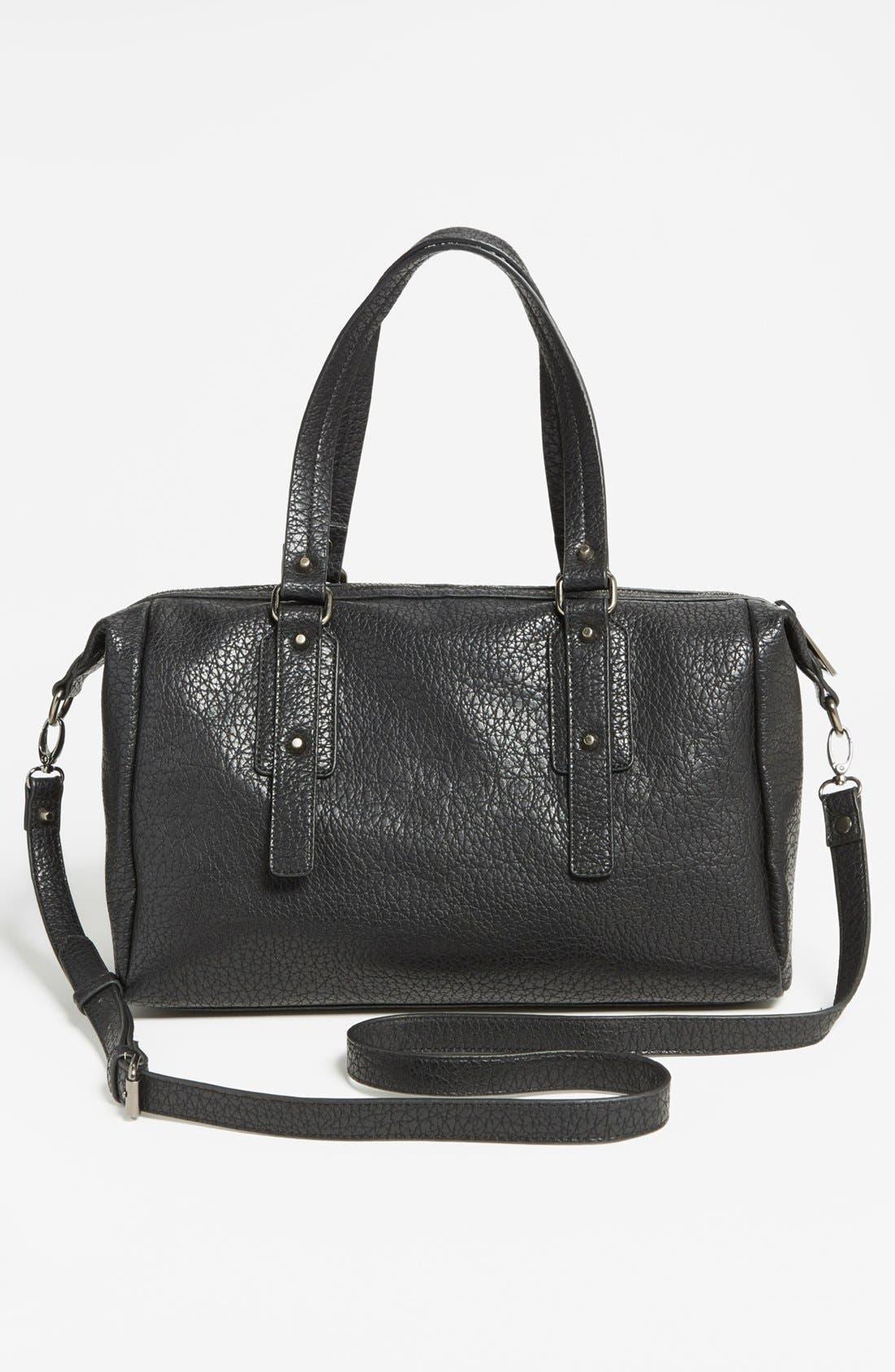 Alternate Image 4  - Cesca 'Large' Studded Crossbody Bag (Juniors)