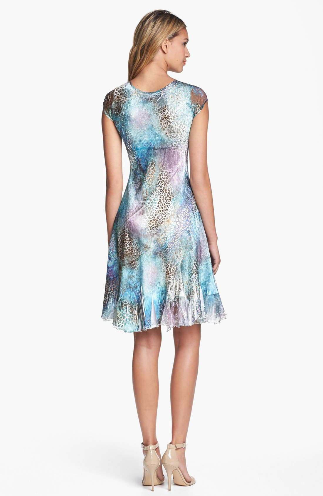 Alternate Image 2  - Komarov Mixed Print Chiffon Dress