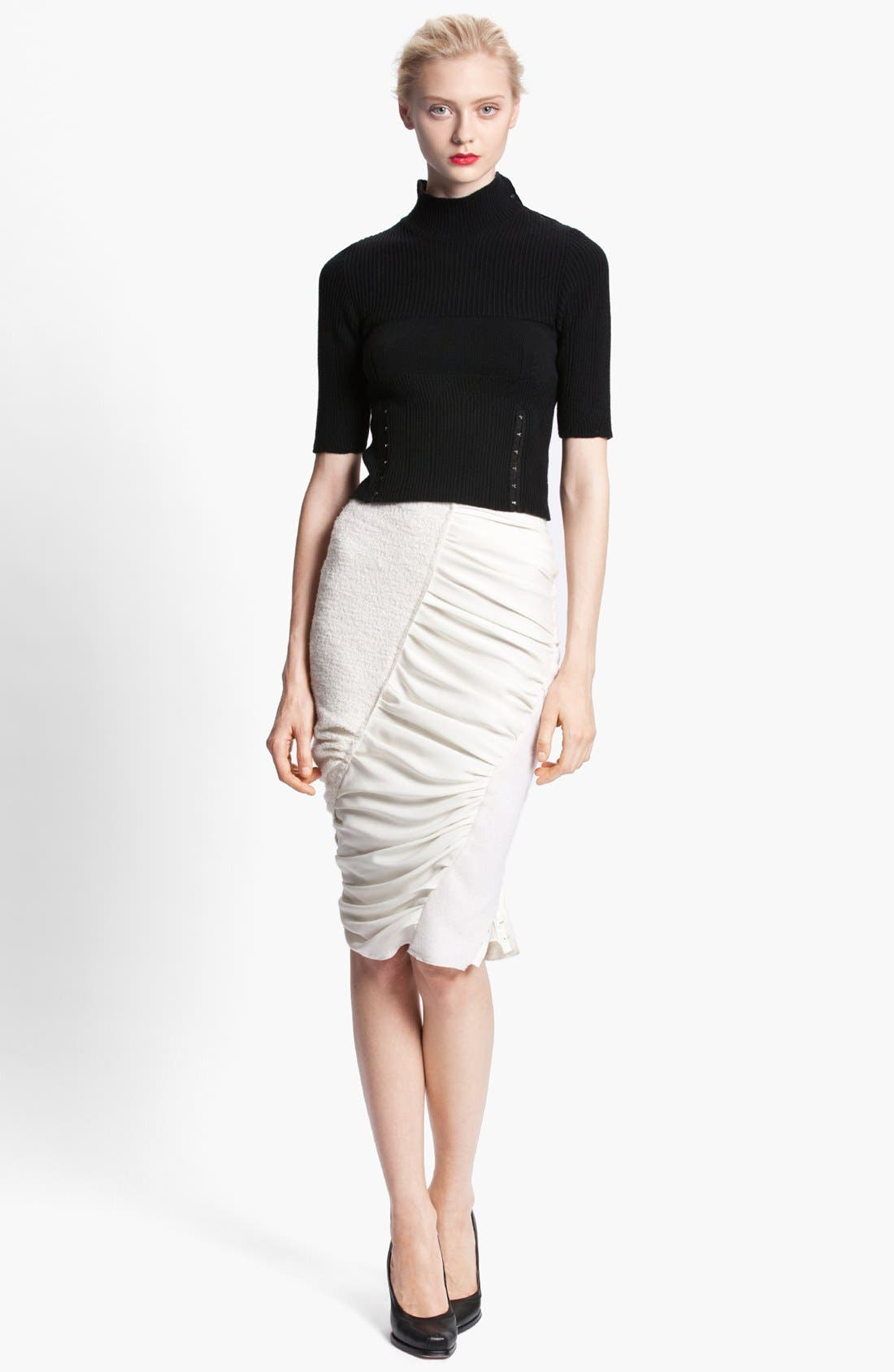 Alternate Image 2  - Nina Ricci Ruched Skirt