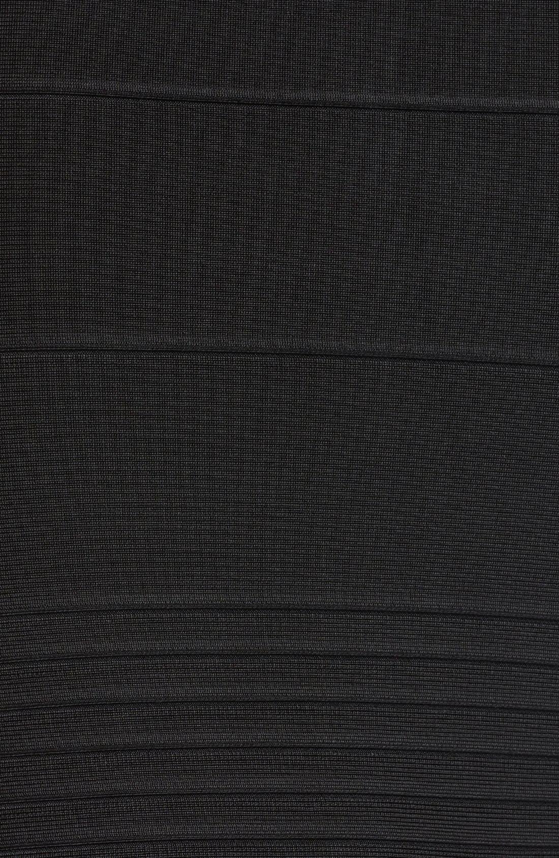 Alternate Image 3  - Herve Leger Strapless Bandage Dress