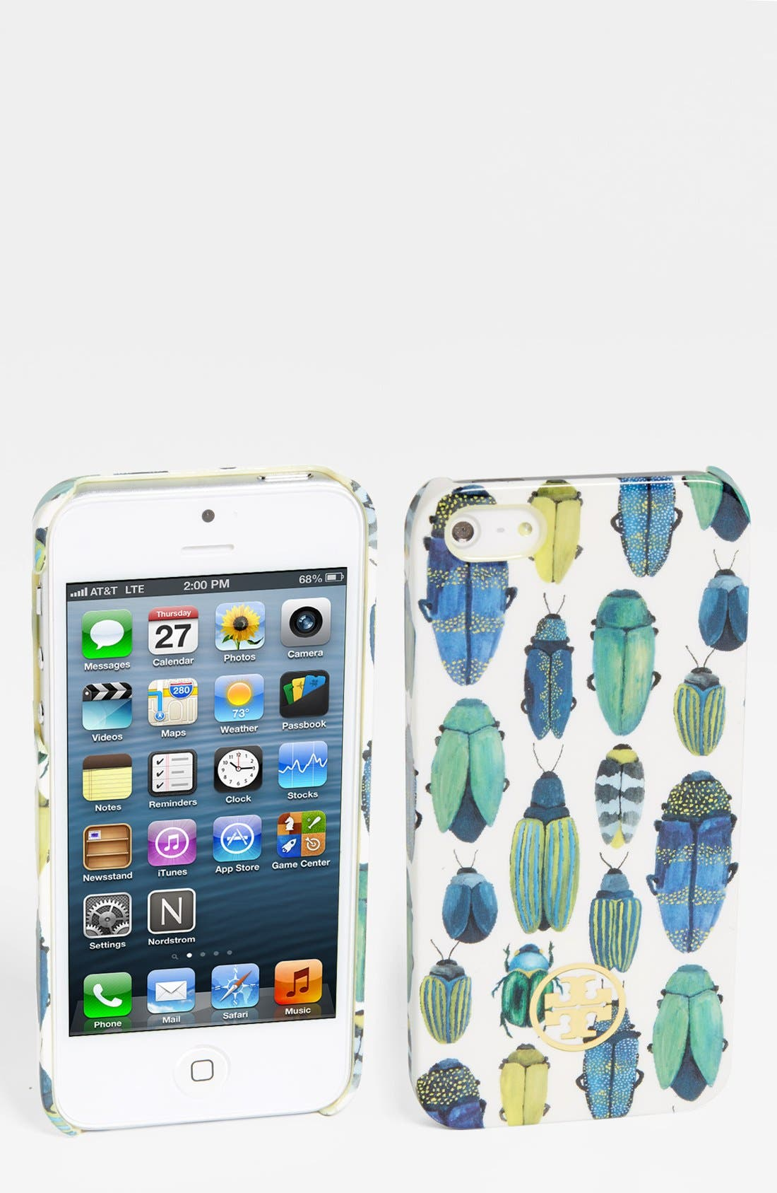 Alternate Image 1 Selected - Tory Burch 'Beetle' iPhone 5 Case
