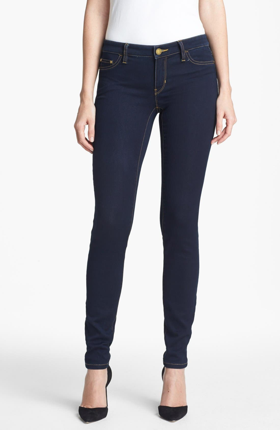 Alternate Image 1 Selected - MICHAEL Michael Kors Stretch Skinny Jeans (Twilight)
