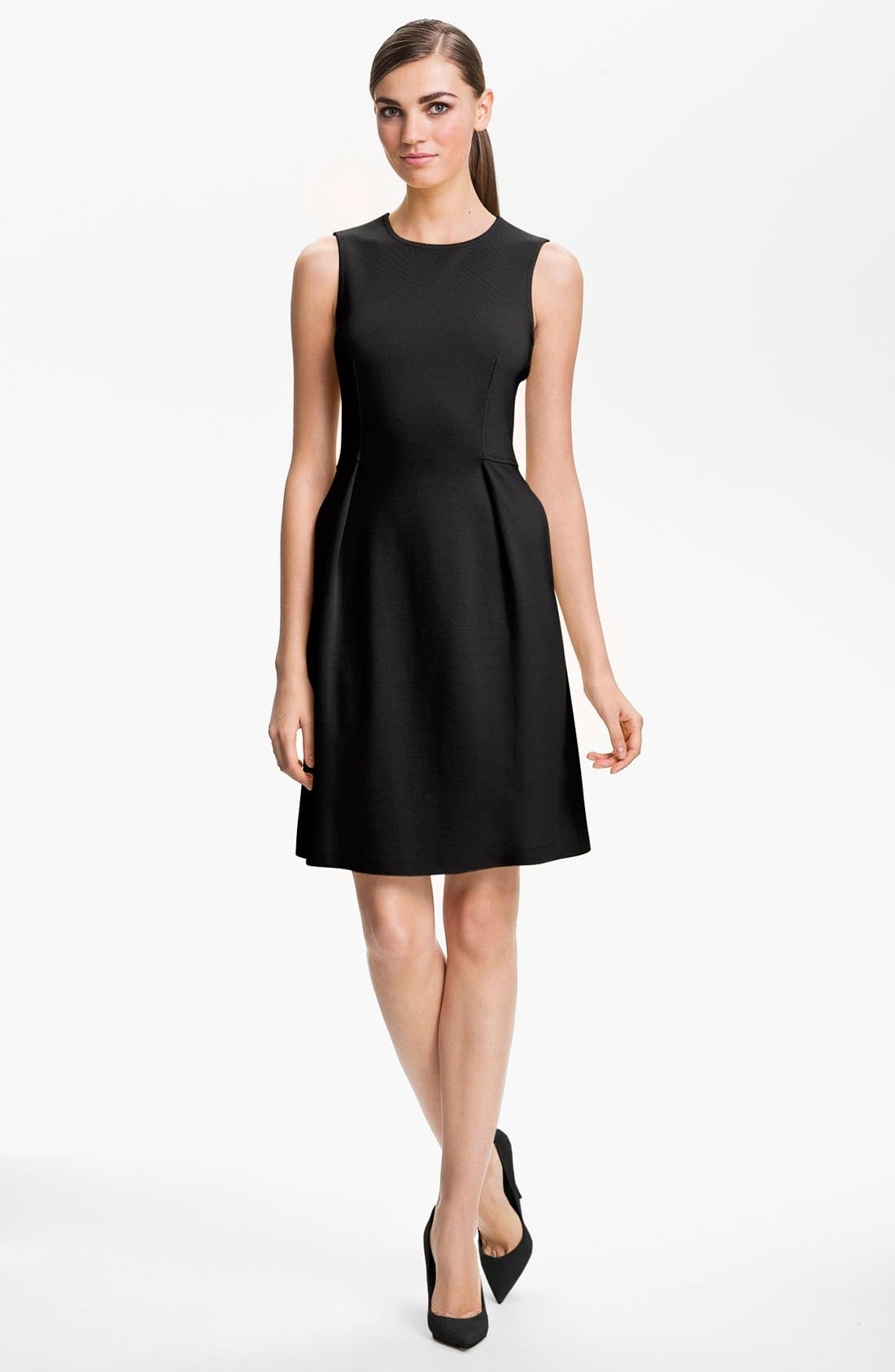 Alternate Image 1 Selected - St. John Collection Sleeveless Milano Knit Dress