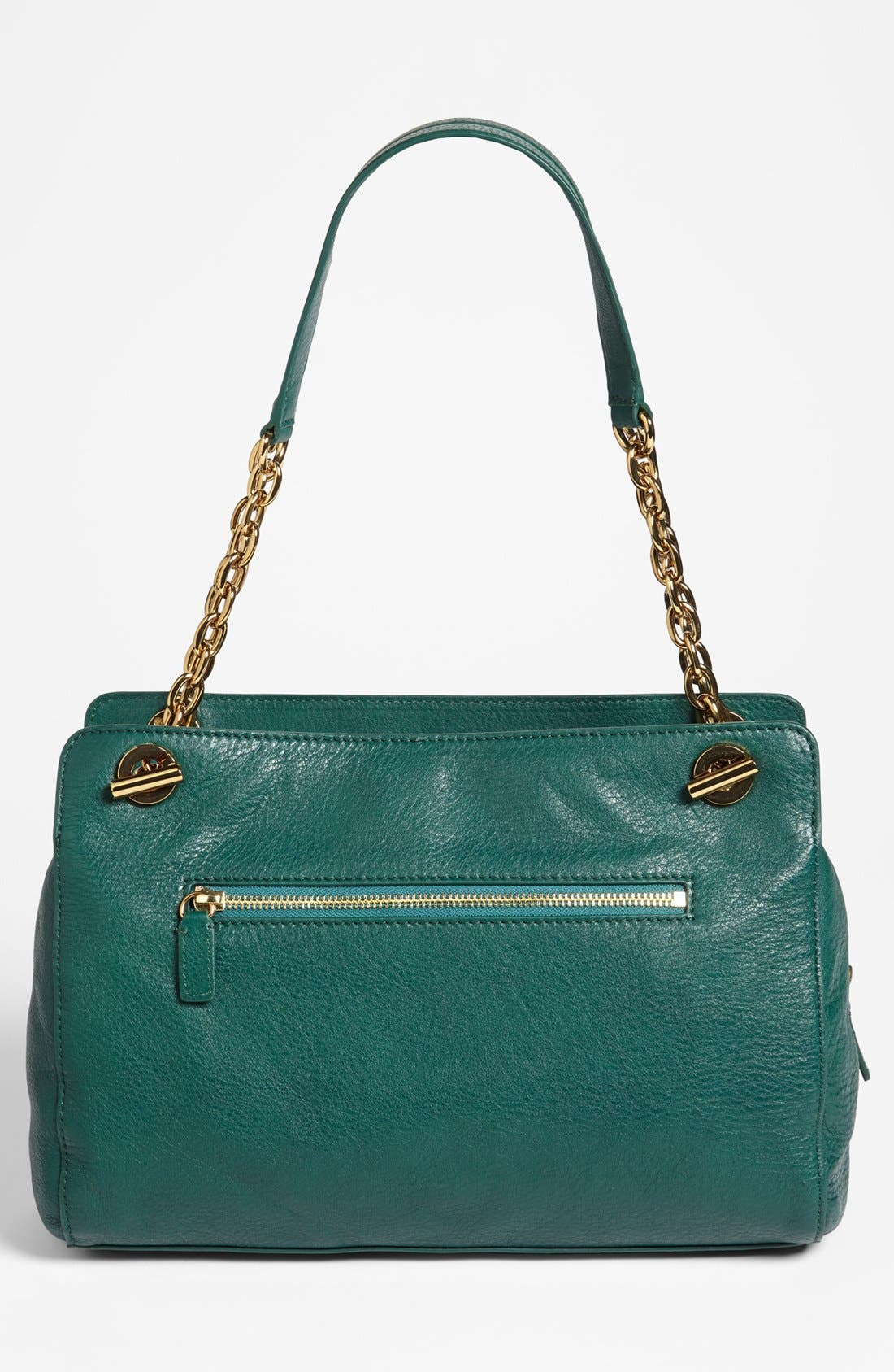 Alternate Image 4  - Tory Burch 'Priscilla' Leather & Calf Hair Shoulder Bag
