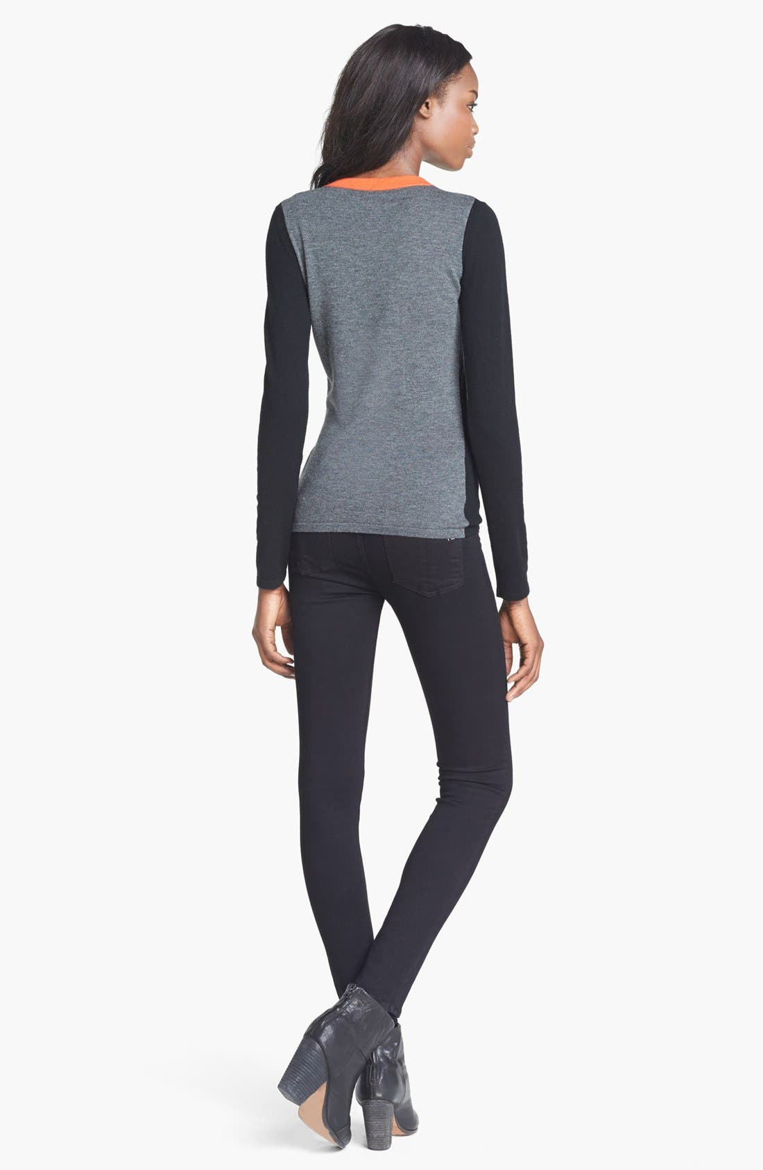 Alternate Image 3  - rag & bone 'Renelle' V-Neck Pullover