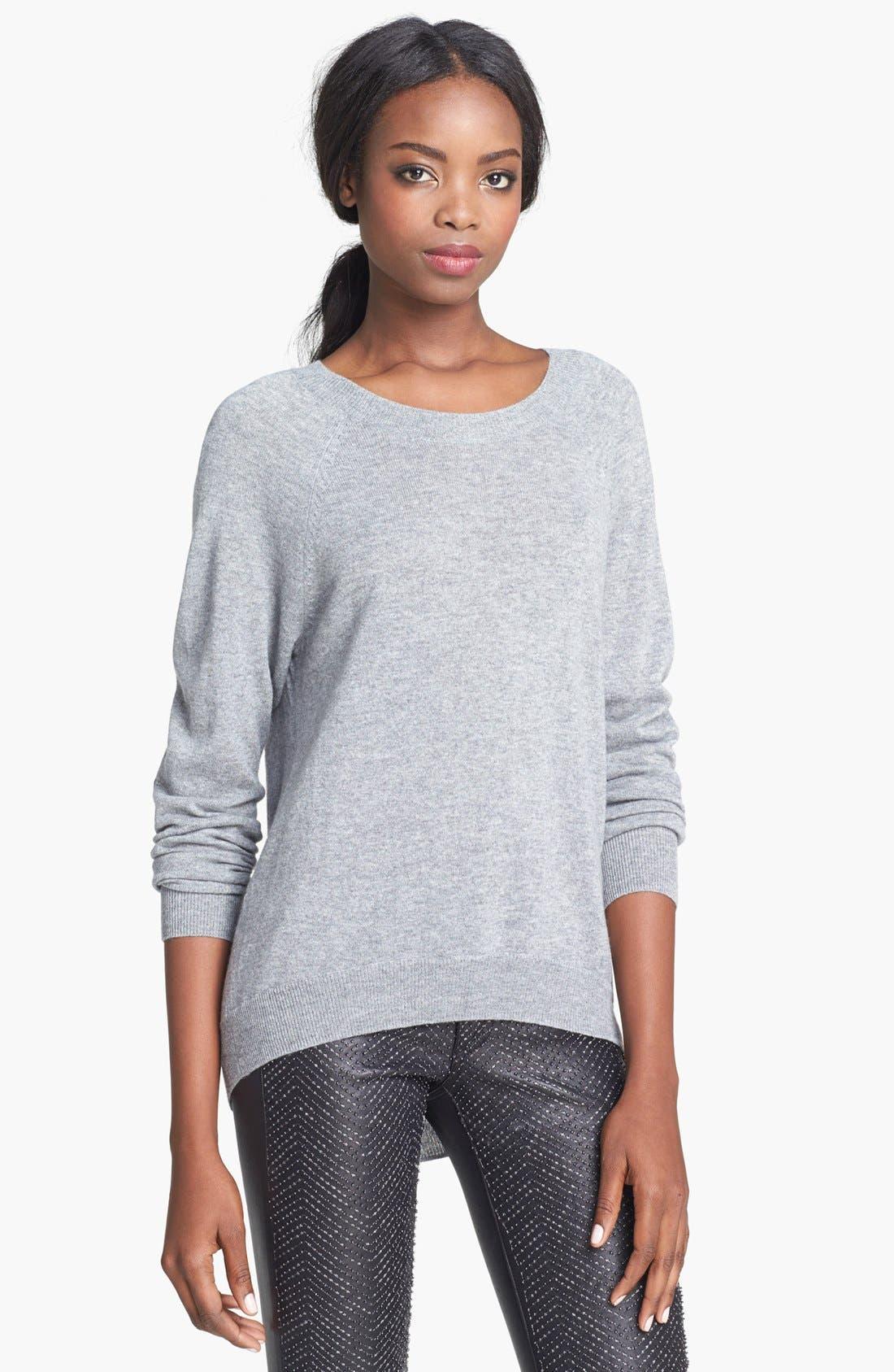 Main Image - autumn cashmere Elbow Patch Cashmere Sweater