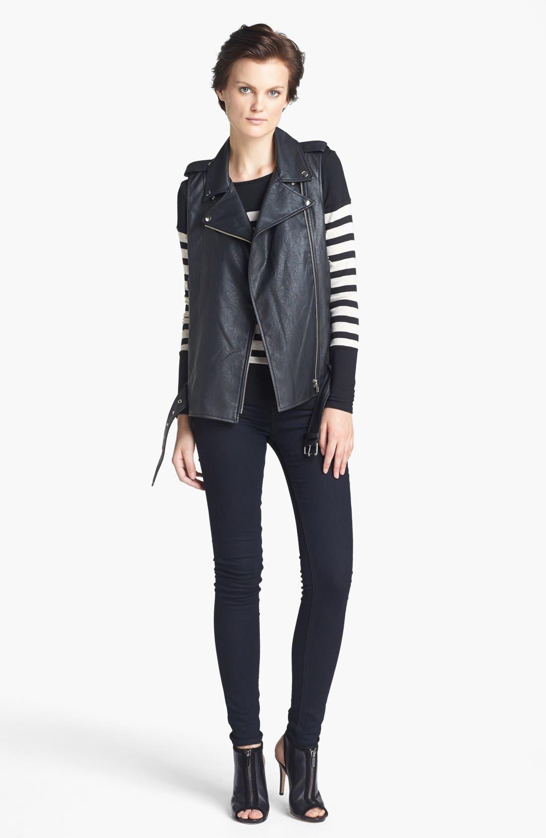 Alternate Image 2  - Mcginn 'Hayden' Faux Leather Vest
