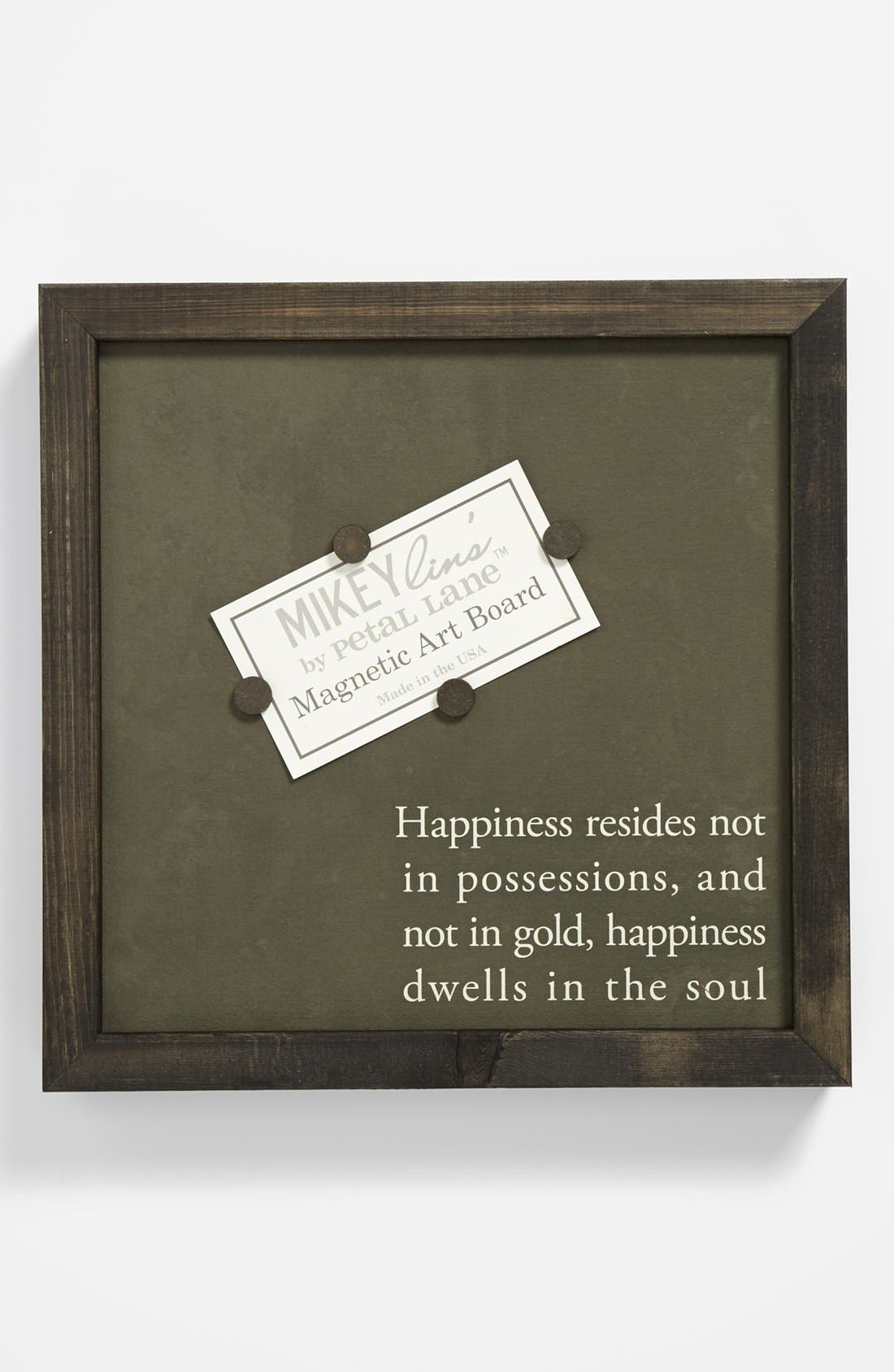 Alternate Image 1 Selected - 'Happy' Quotable Framed Magnet Art Board, Small