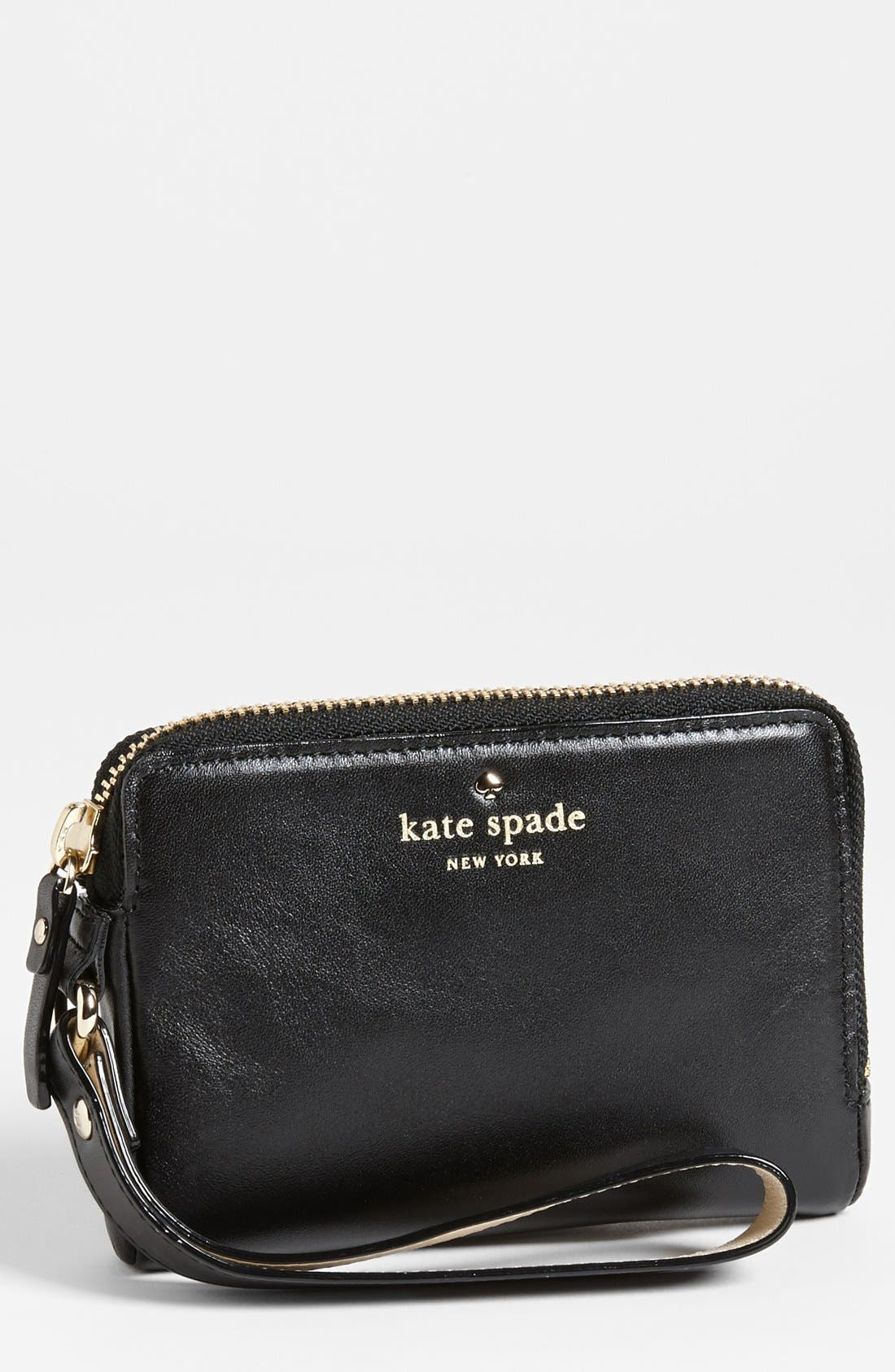 Main Image - kate spade new york 'brightspot - michael' wristlet