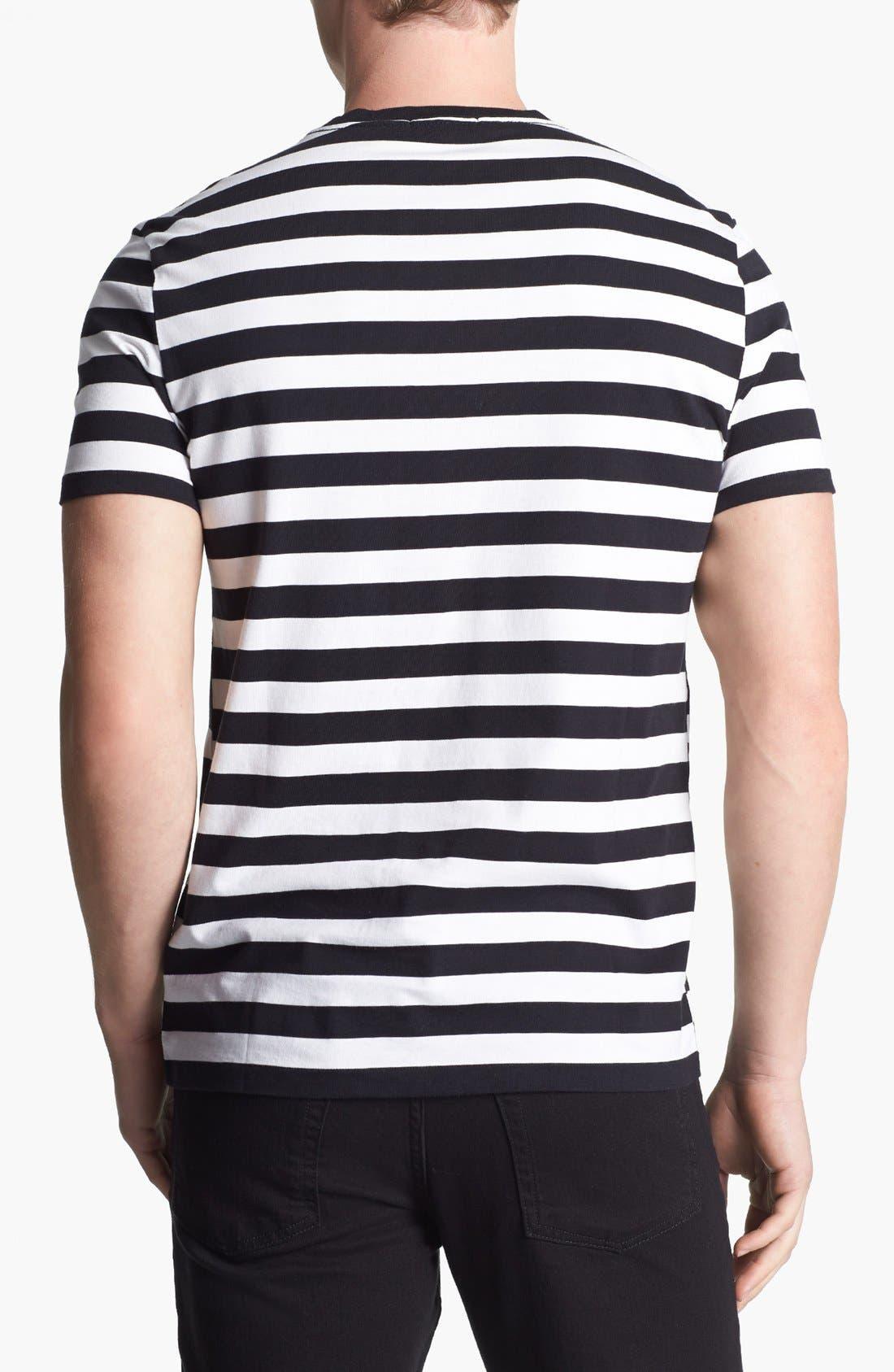 Alternate Image 2  - Burberry Brit 'Hume' Stripe T-Shirt