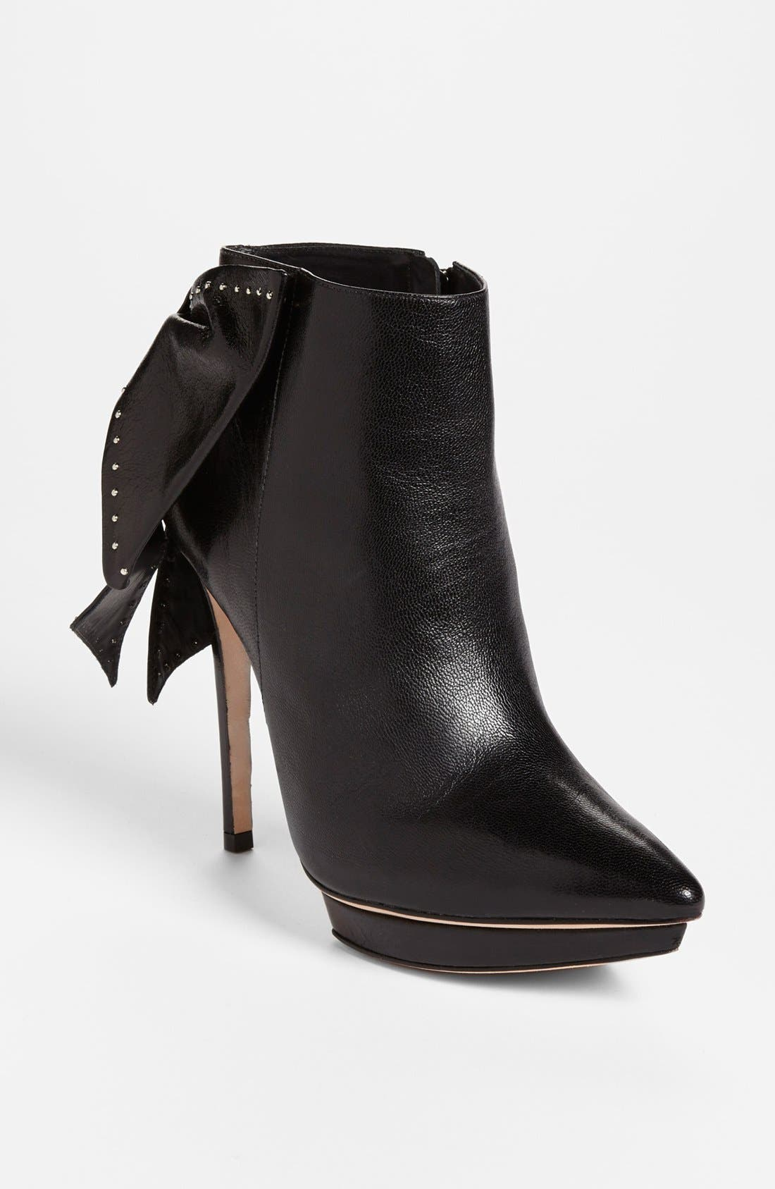 Main Image - Alice + Olivia 'Darleen' Leather Bootie