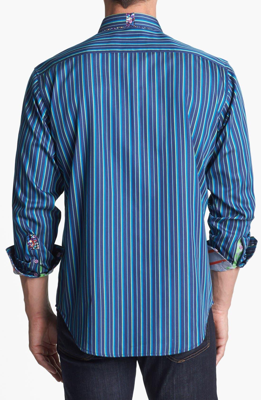 Alternate Image 3  - Robert Graham 'Skimmer' Tailored Fit Sport Shirt