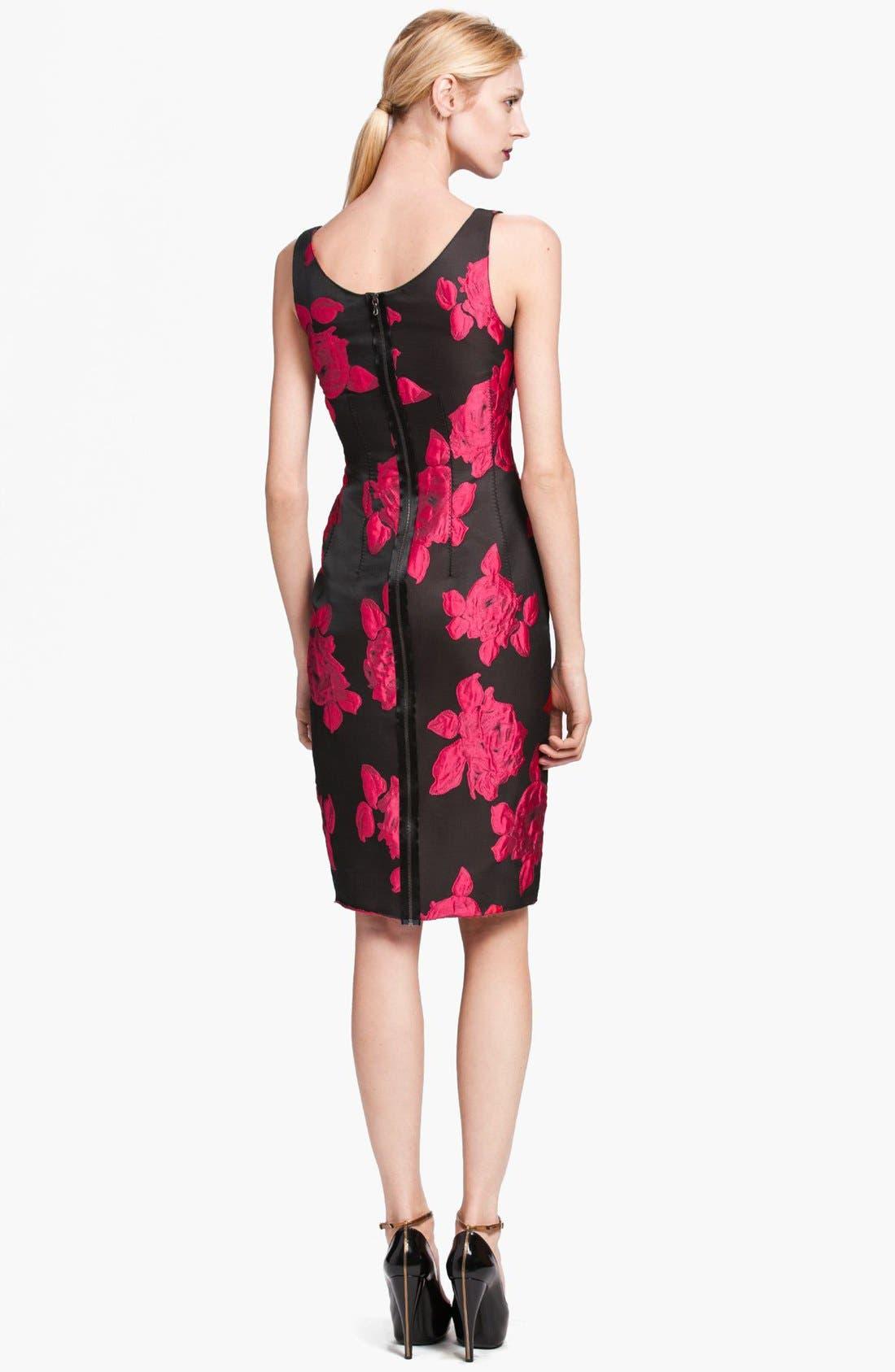 Alternate Image 2  - Lanvin Rose Cocktail Dress