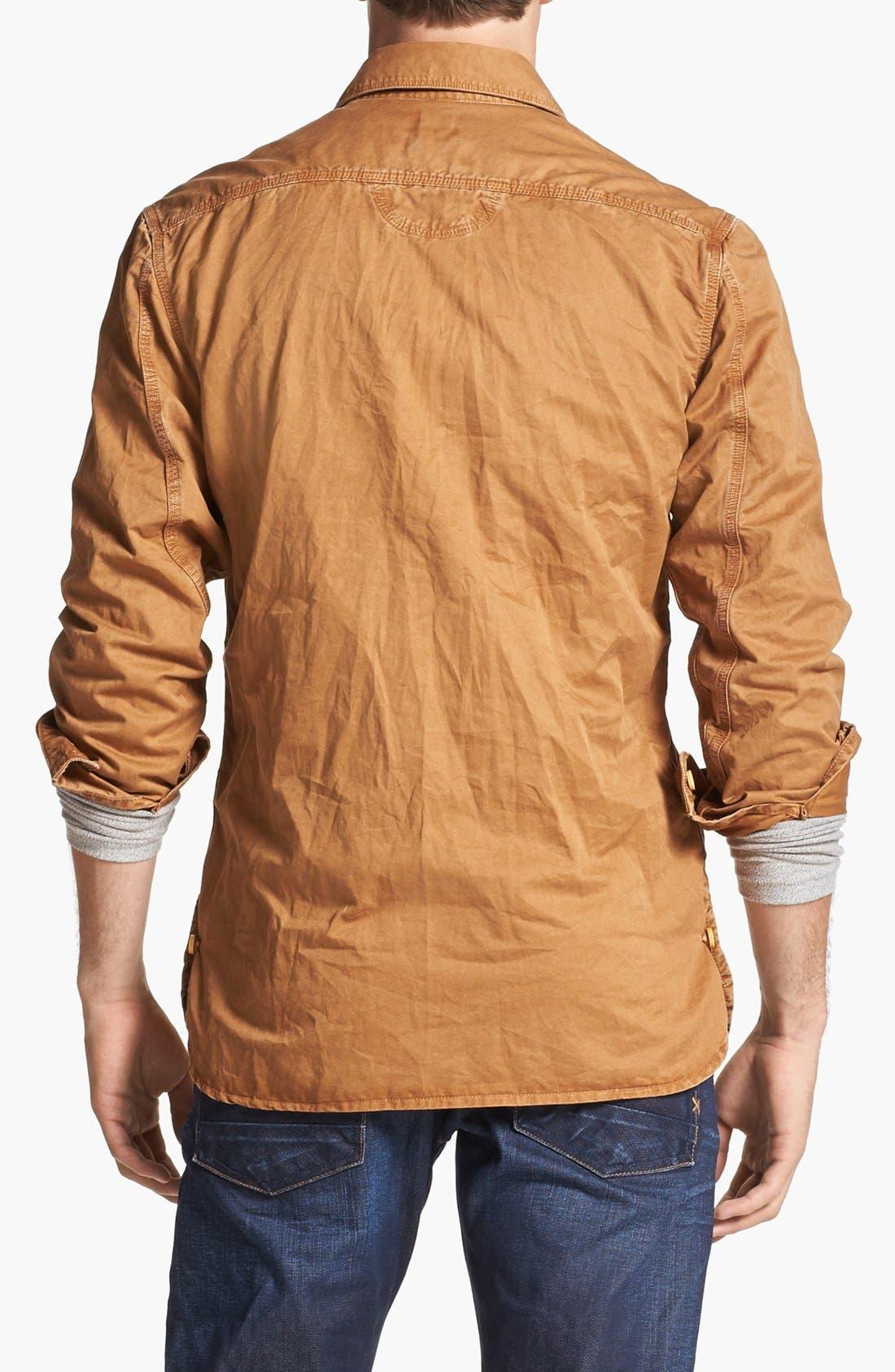 Alternate Image 2  - PRPS Cotton Woven Shirt