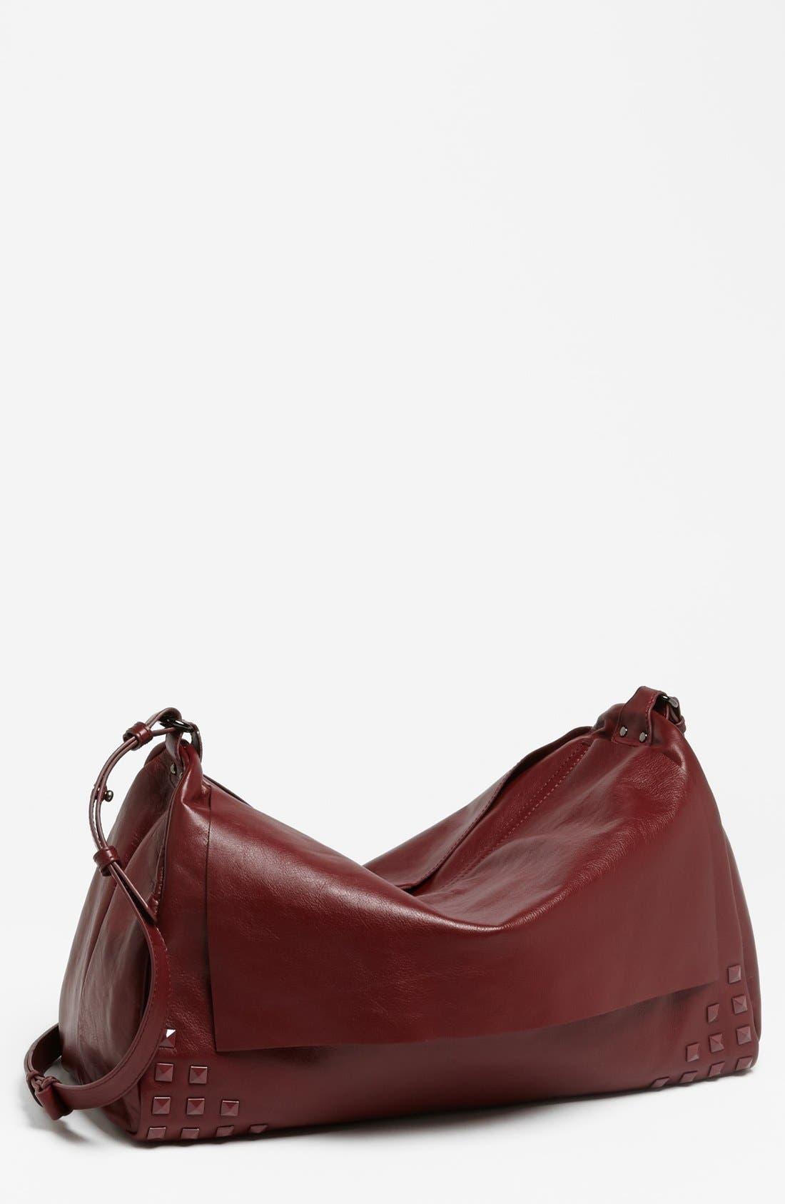 Alternate Image 1 Selected - Trouvé 'Large' Studded Leather Crossbody Bag
