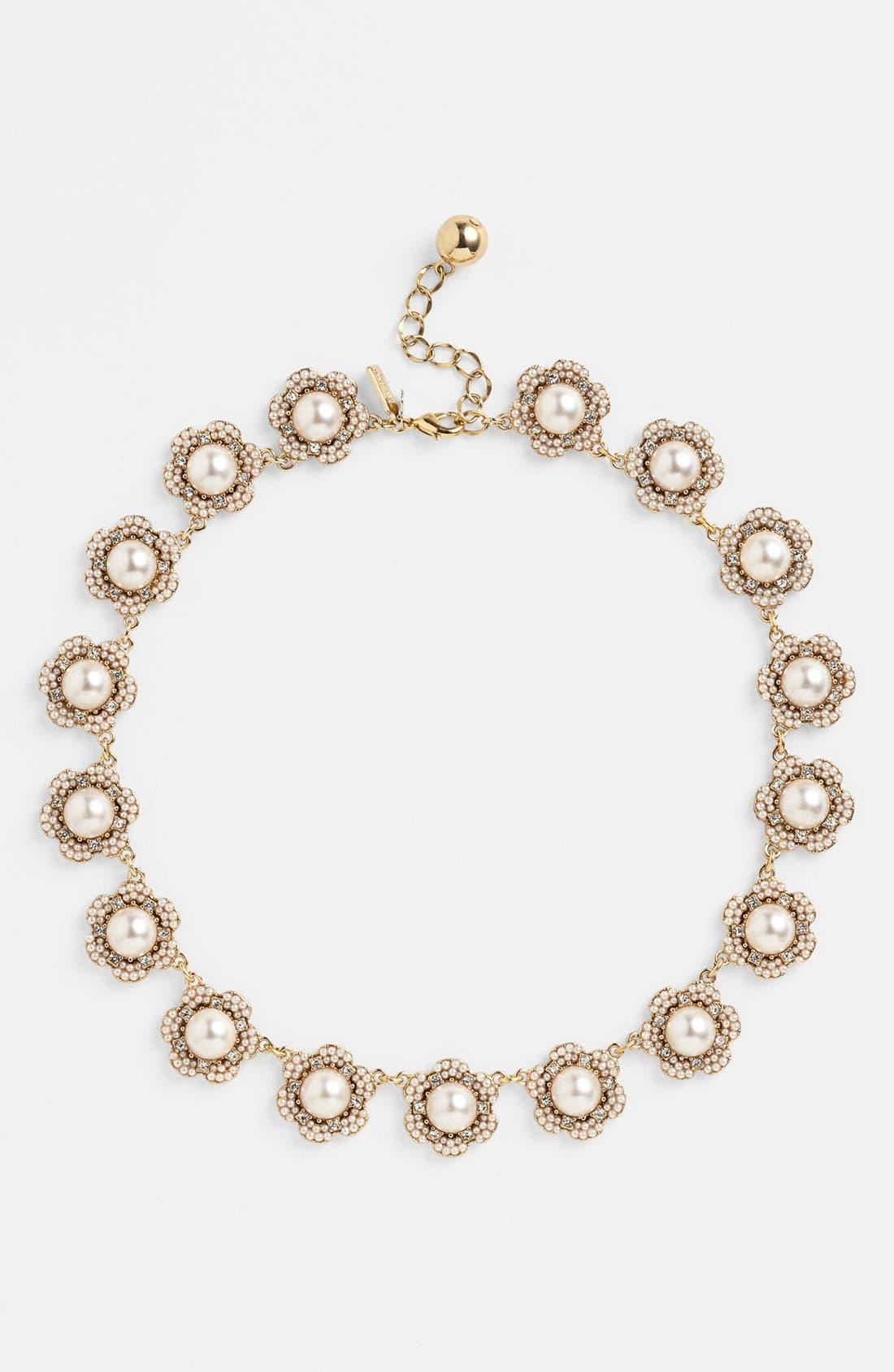 Alternate Image 2  - kate spade new york 'park floral' collar necklace