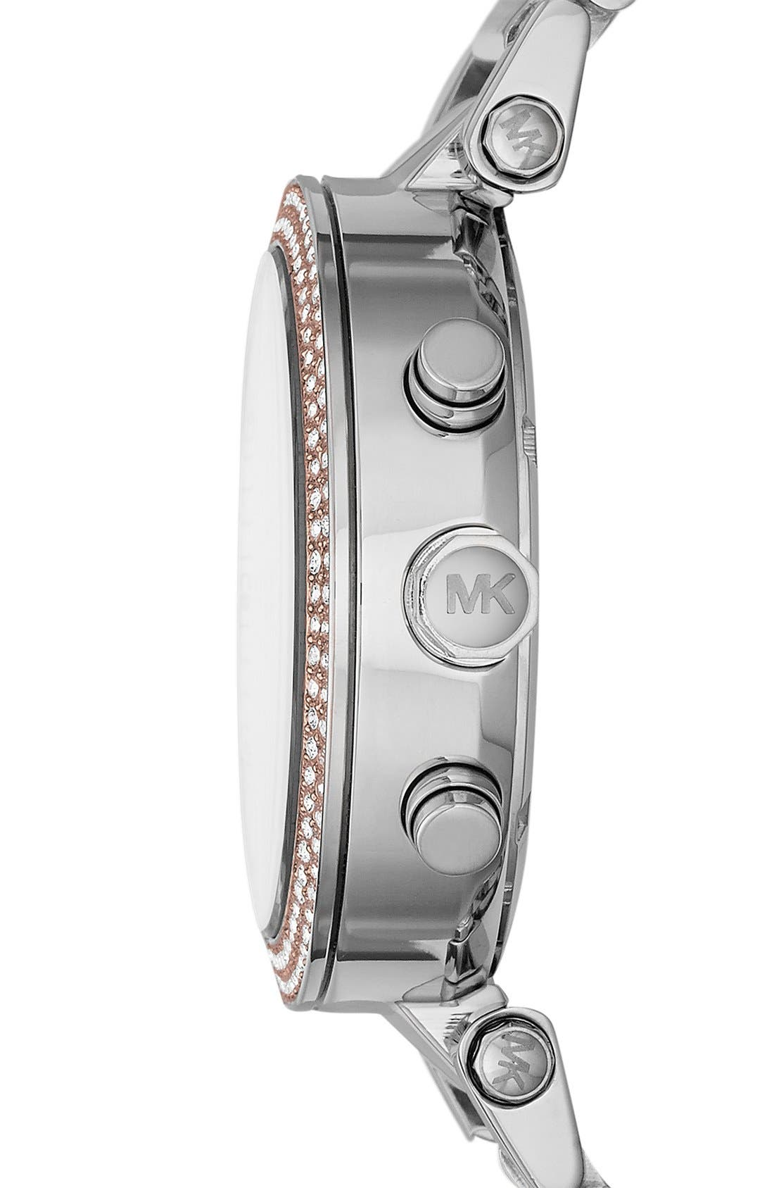 Alternate Image 3  - Michael Kors 'Parker' Chronograph Bracelet Watch, 39mm