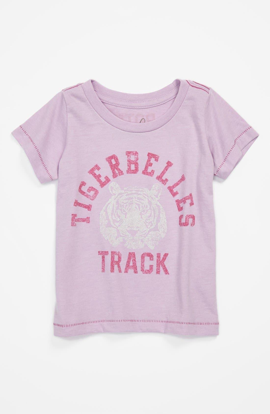 Alternate Image 1 Selected - Peek 'Tigerbelles' Tee (Baby Girls)