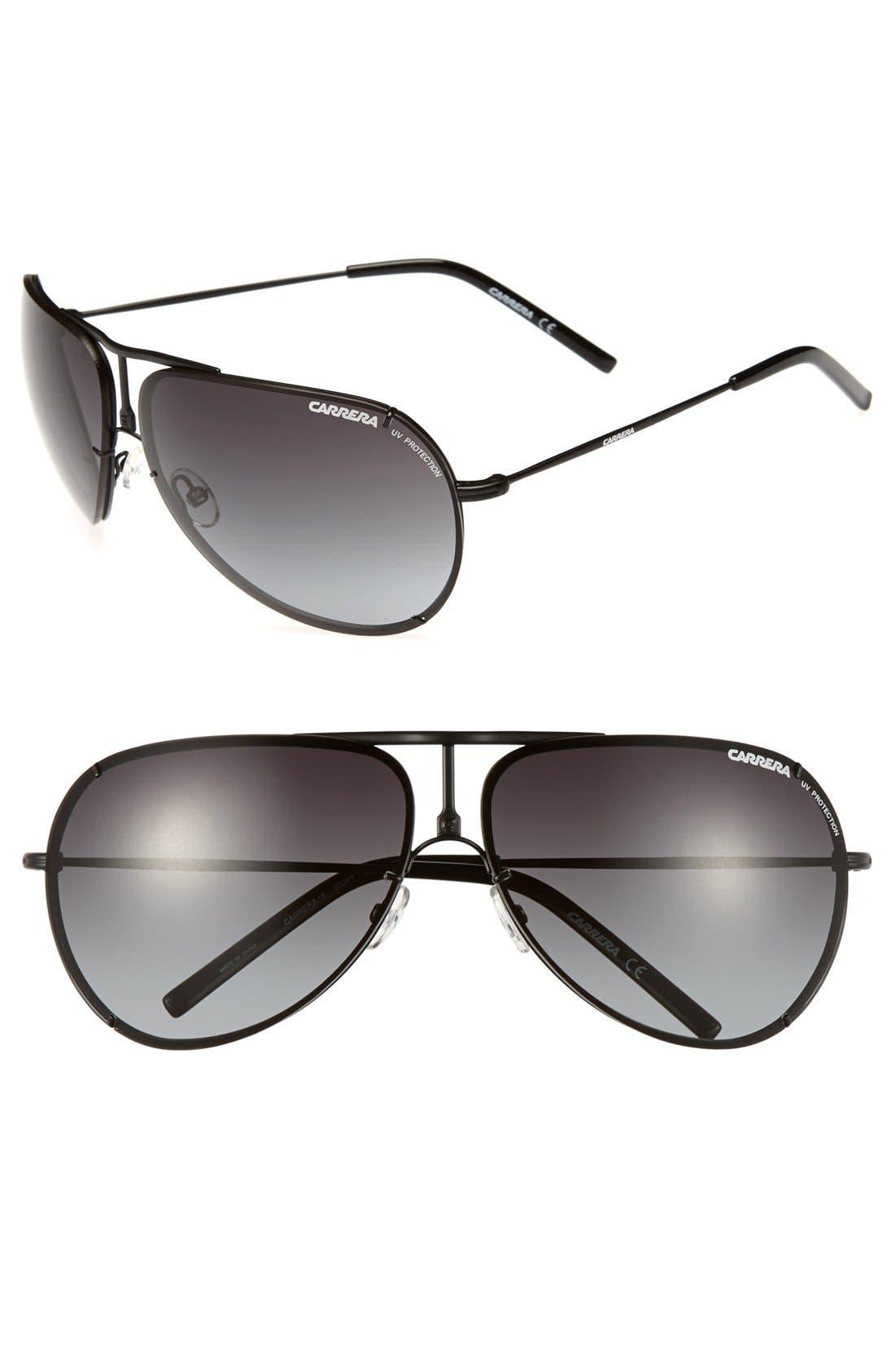 Alternate Image 1 Selected - Carrera Eyewear 67mm Aviator Sunglasses