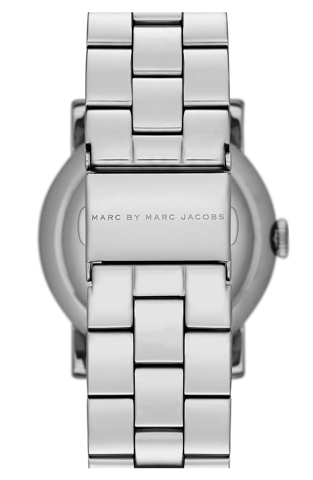 Alternate Image 2  - MARC JACOBS 'Amy' Mother-of-Pearl Dial Watch, 37mm